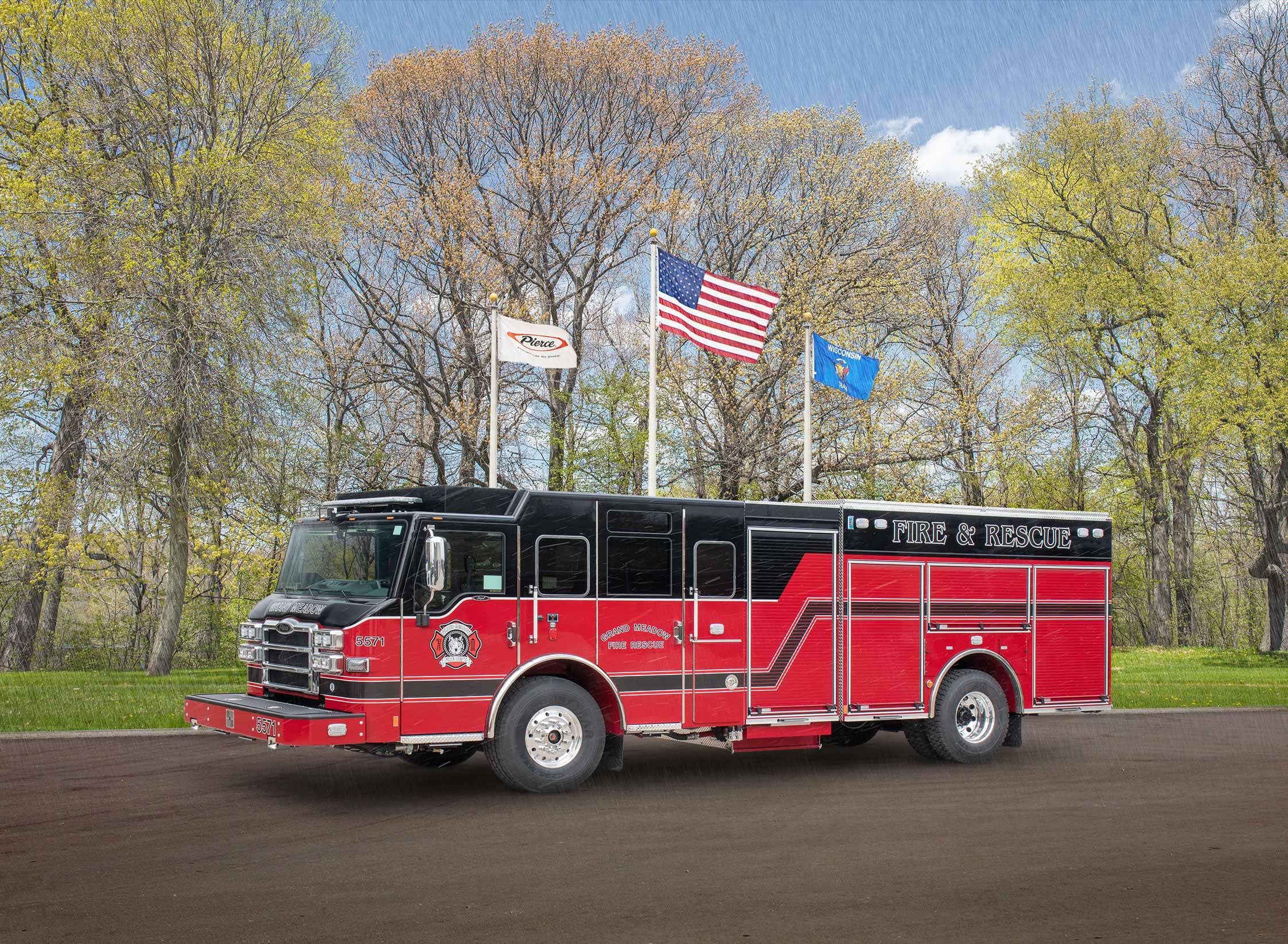 Grand Meadow Fire Department - Pumper