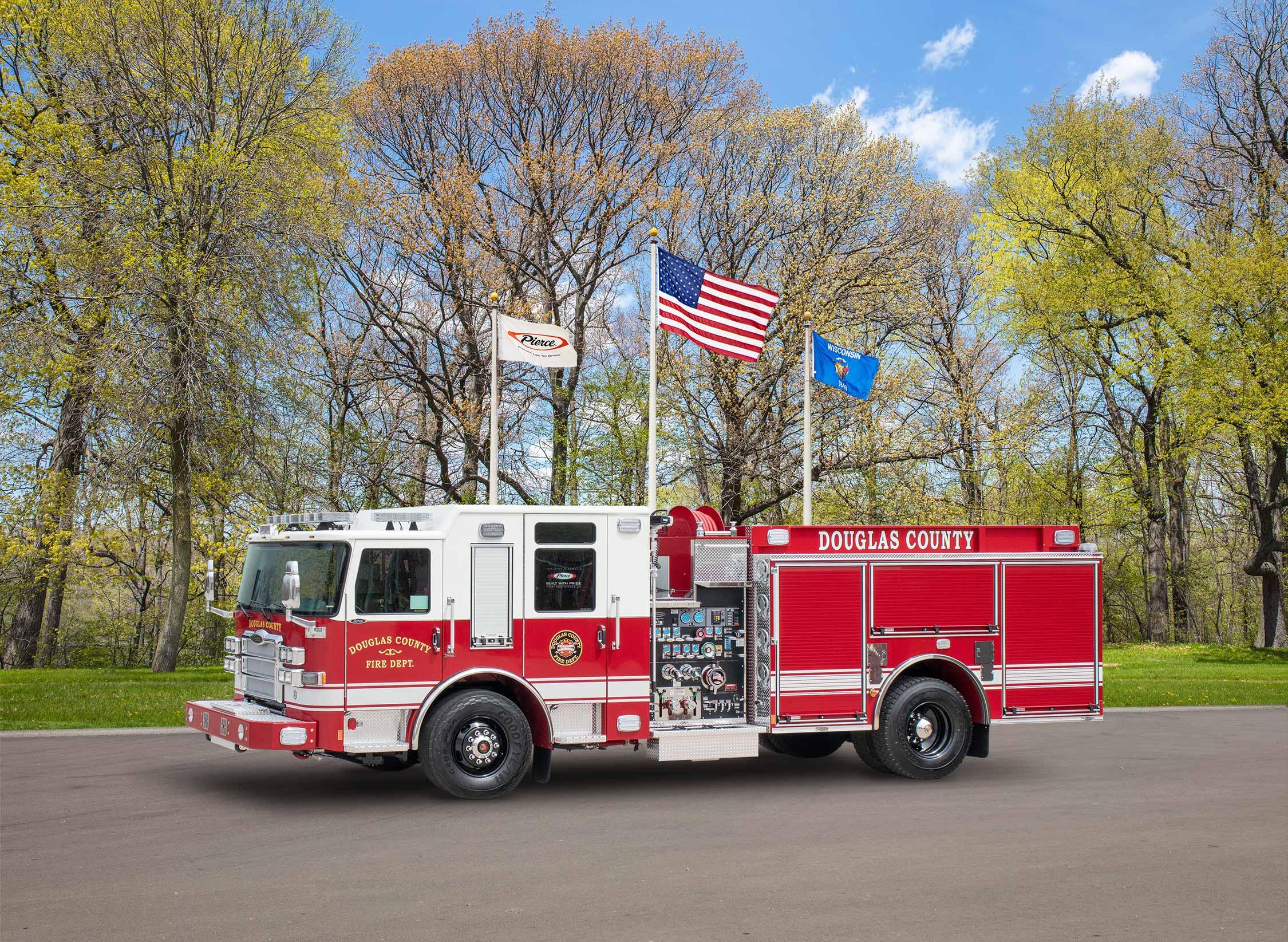 Douglas County Fire Department - Pumper