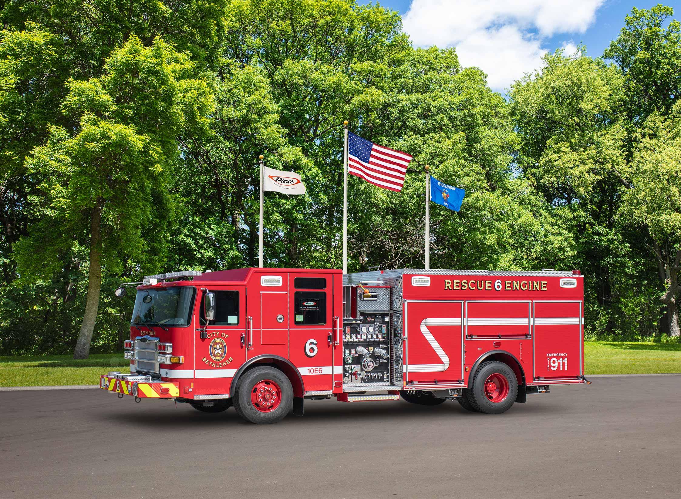 Bethlehem City Fire Department - Pumper