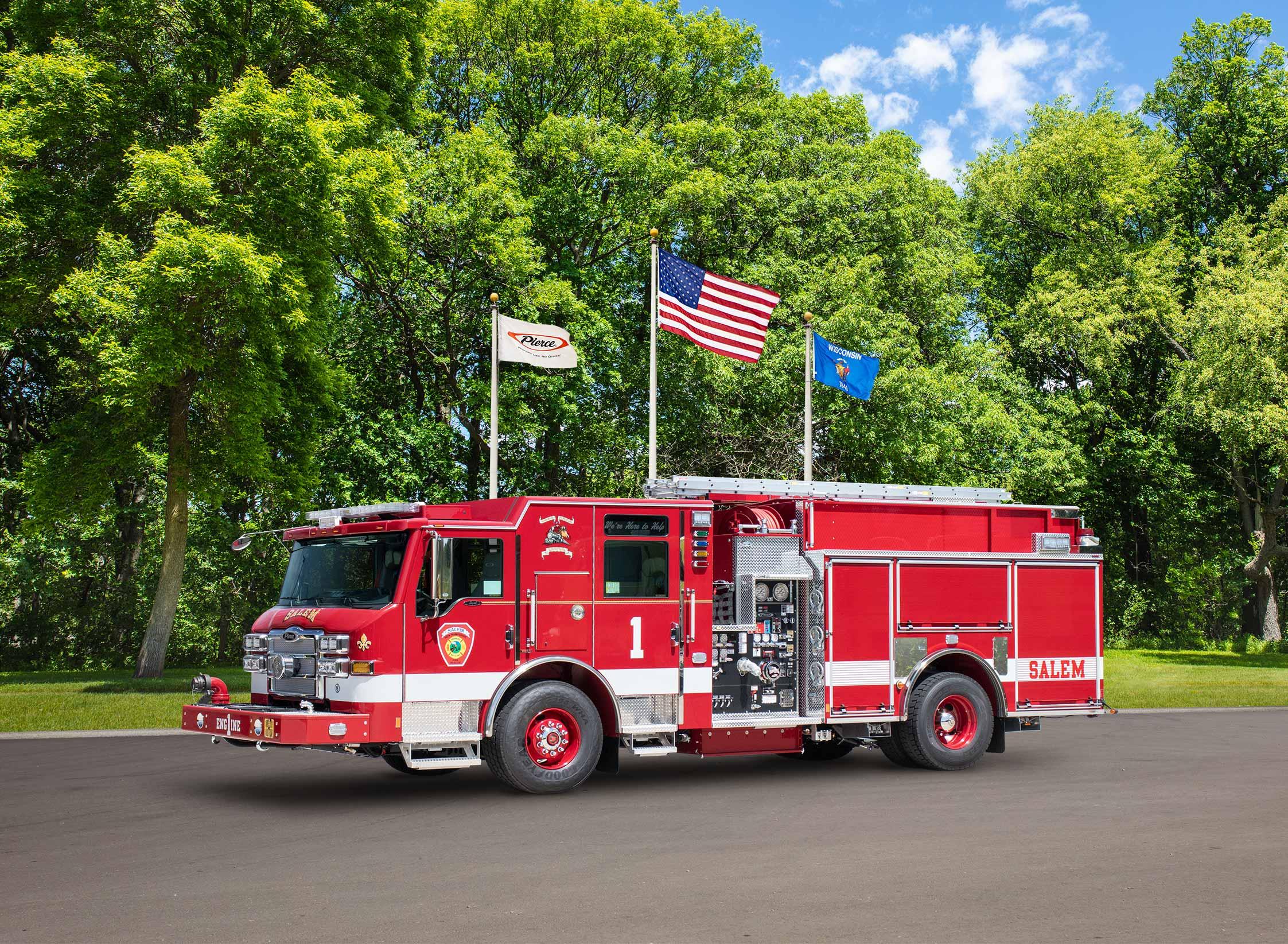 Salem Fire Department - Pumper
