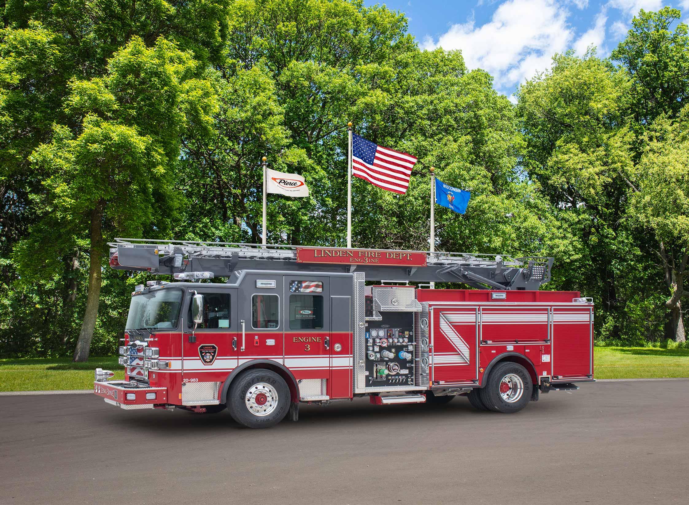 Linden Fire Department - Aerial