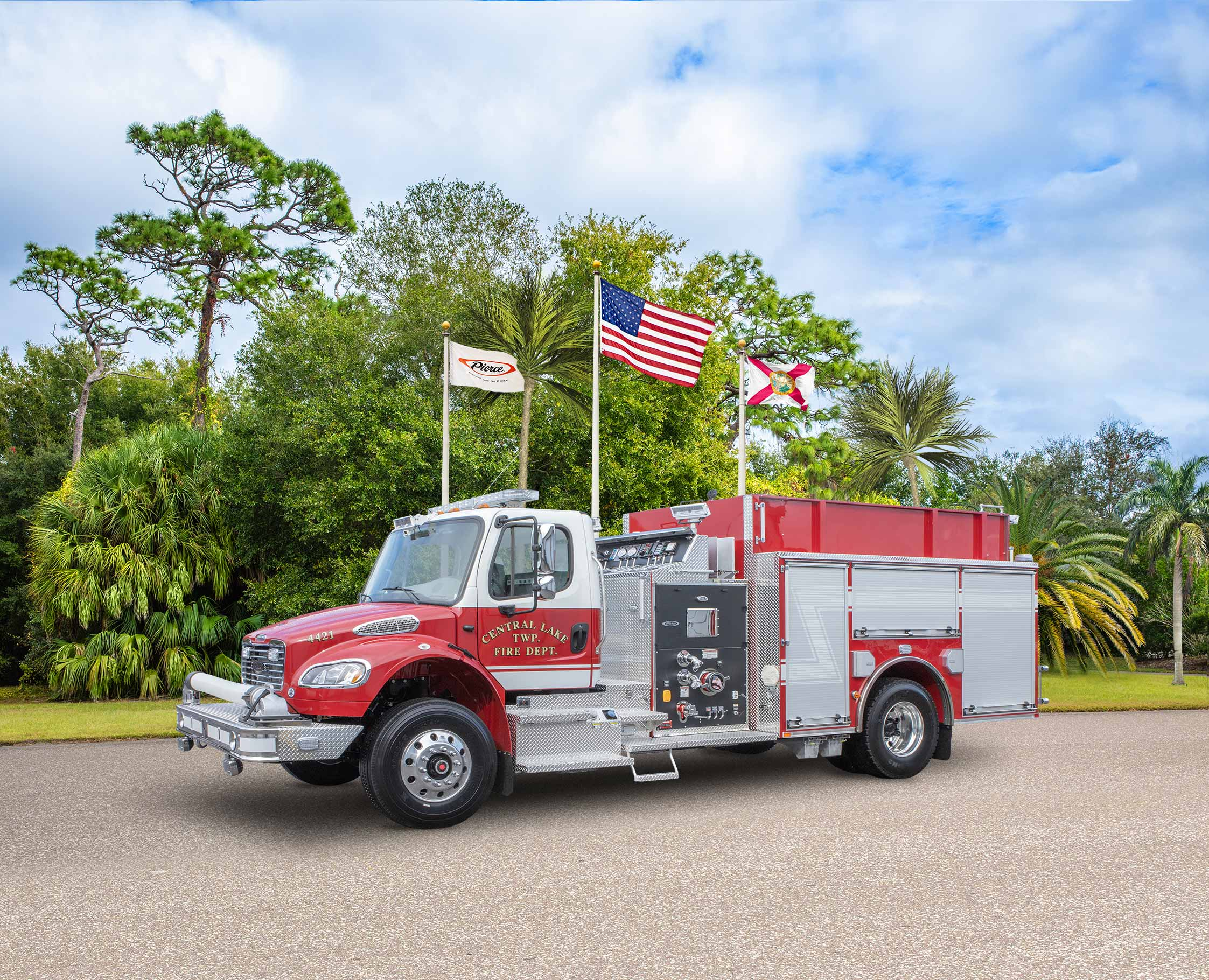 Central Lake Township Fire Department - Pumper