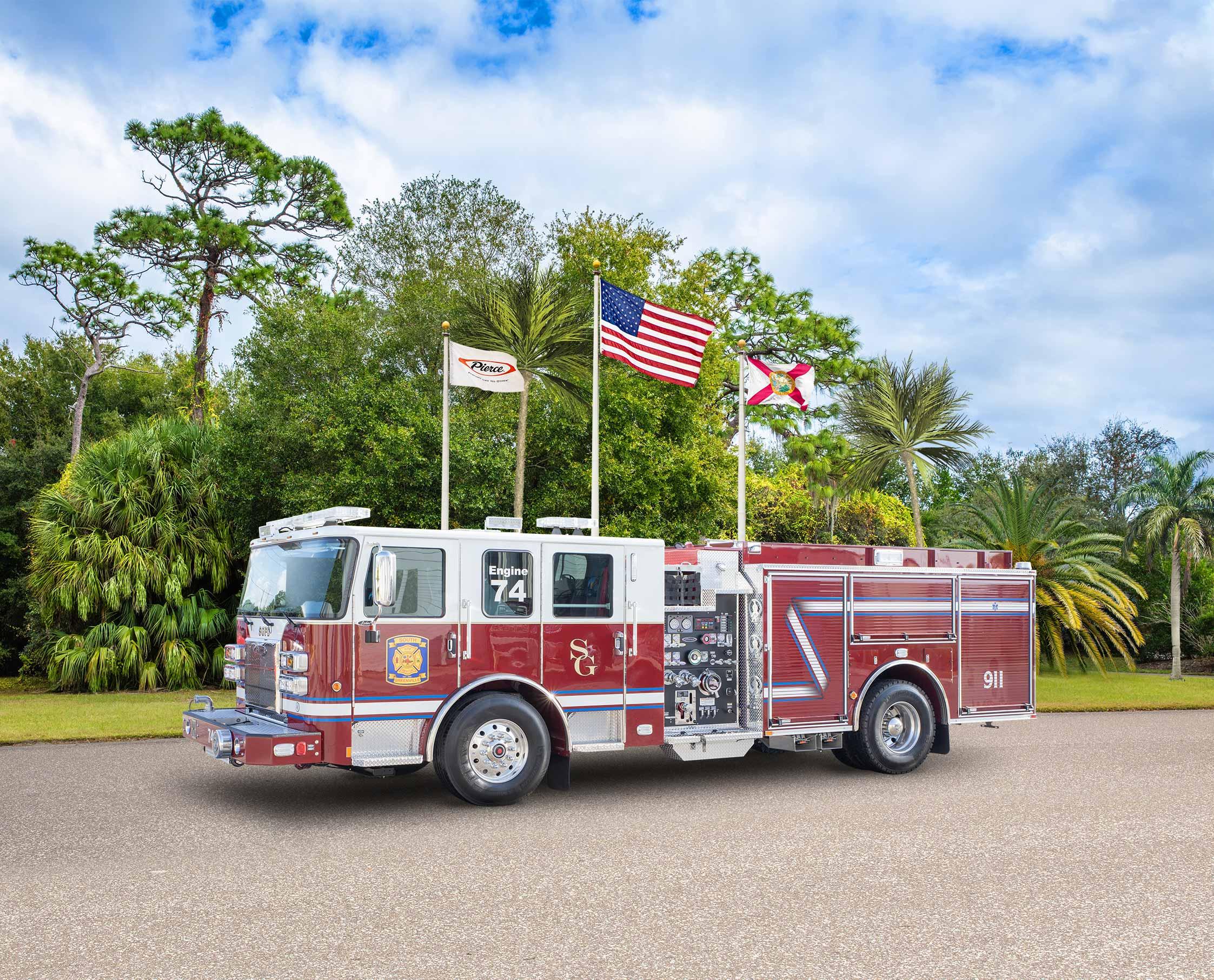South Greenville Fire District - Pumper