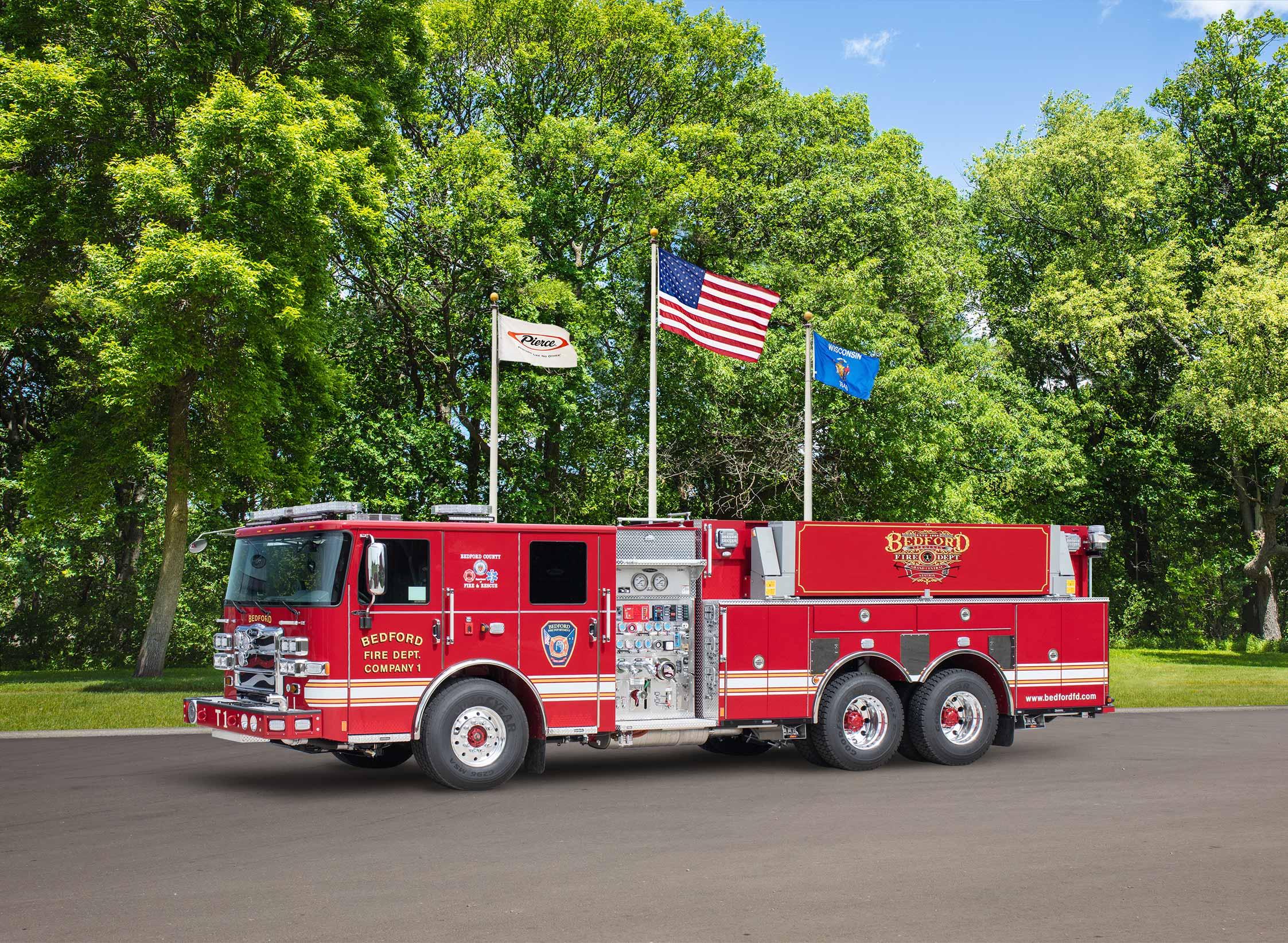 Bedford Fire Department - Tanker