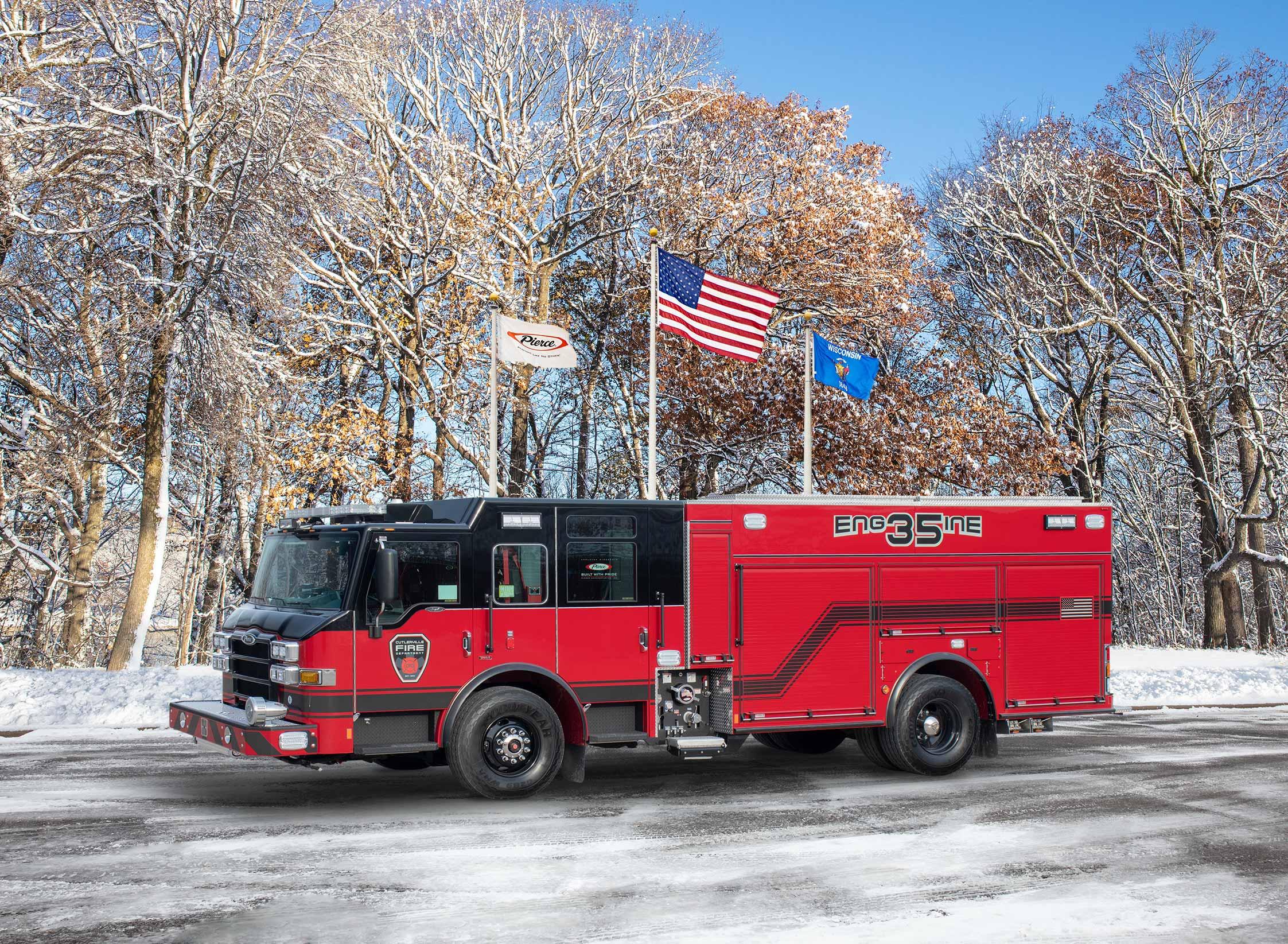 Cutlerville Fire Department - Pumper