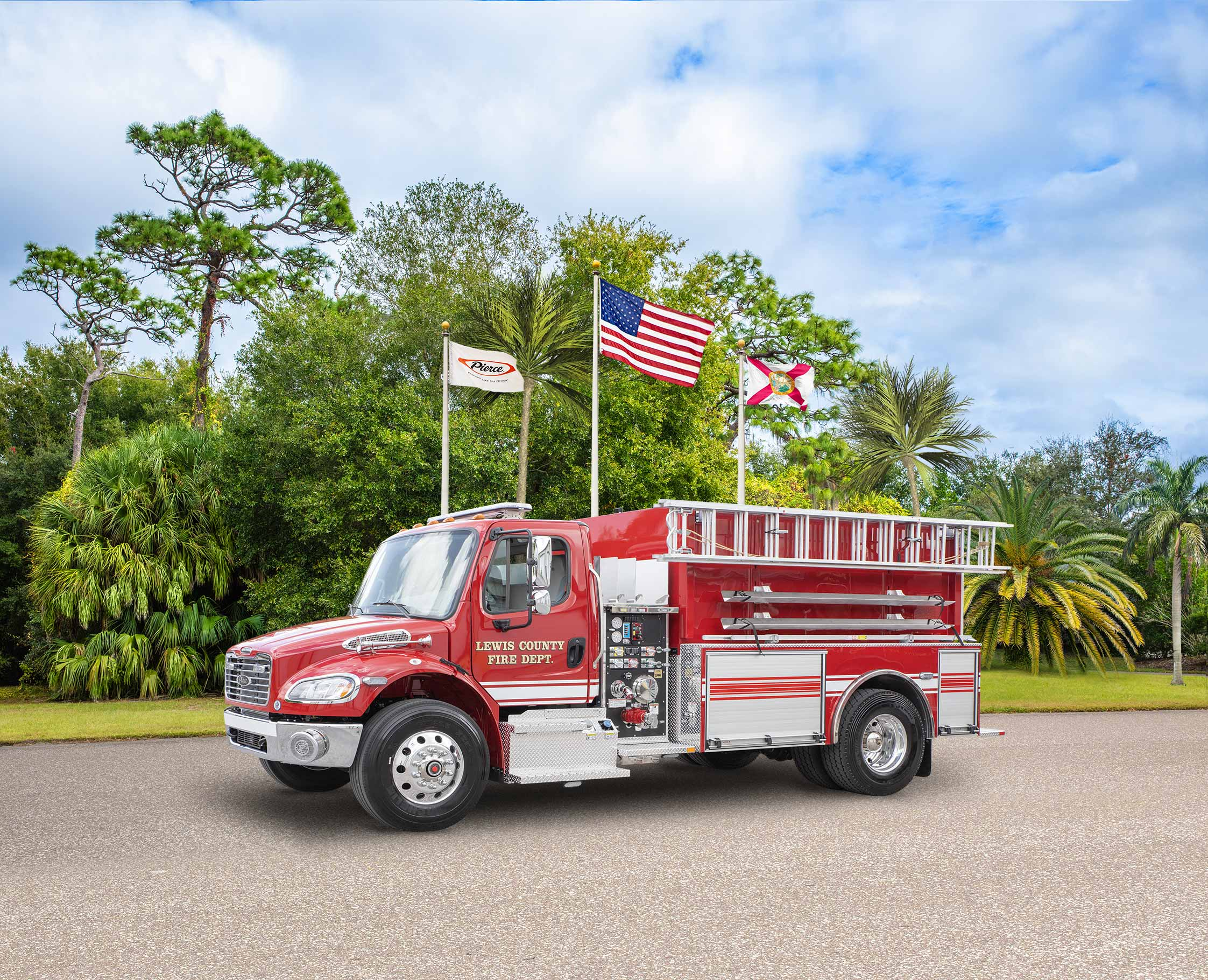 Lewis County Fire Department - Tanker