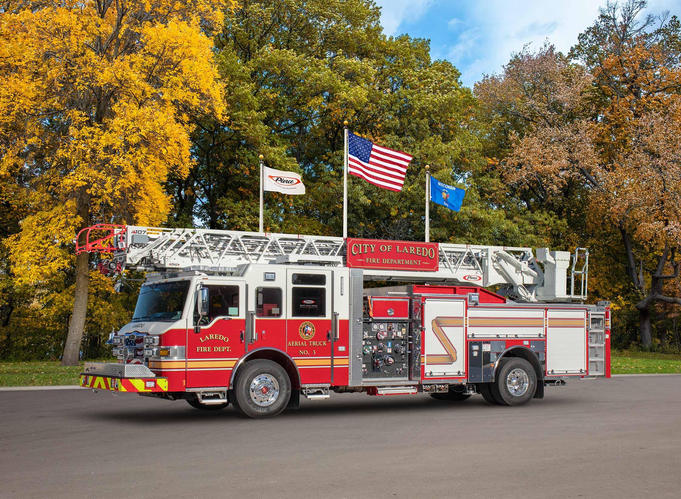 Laredo Fire Department - Aerial