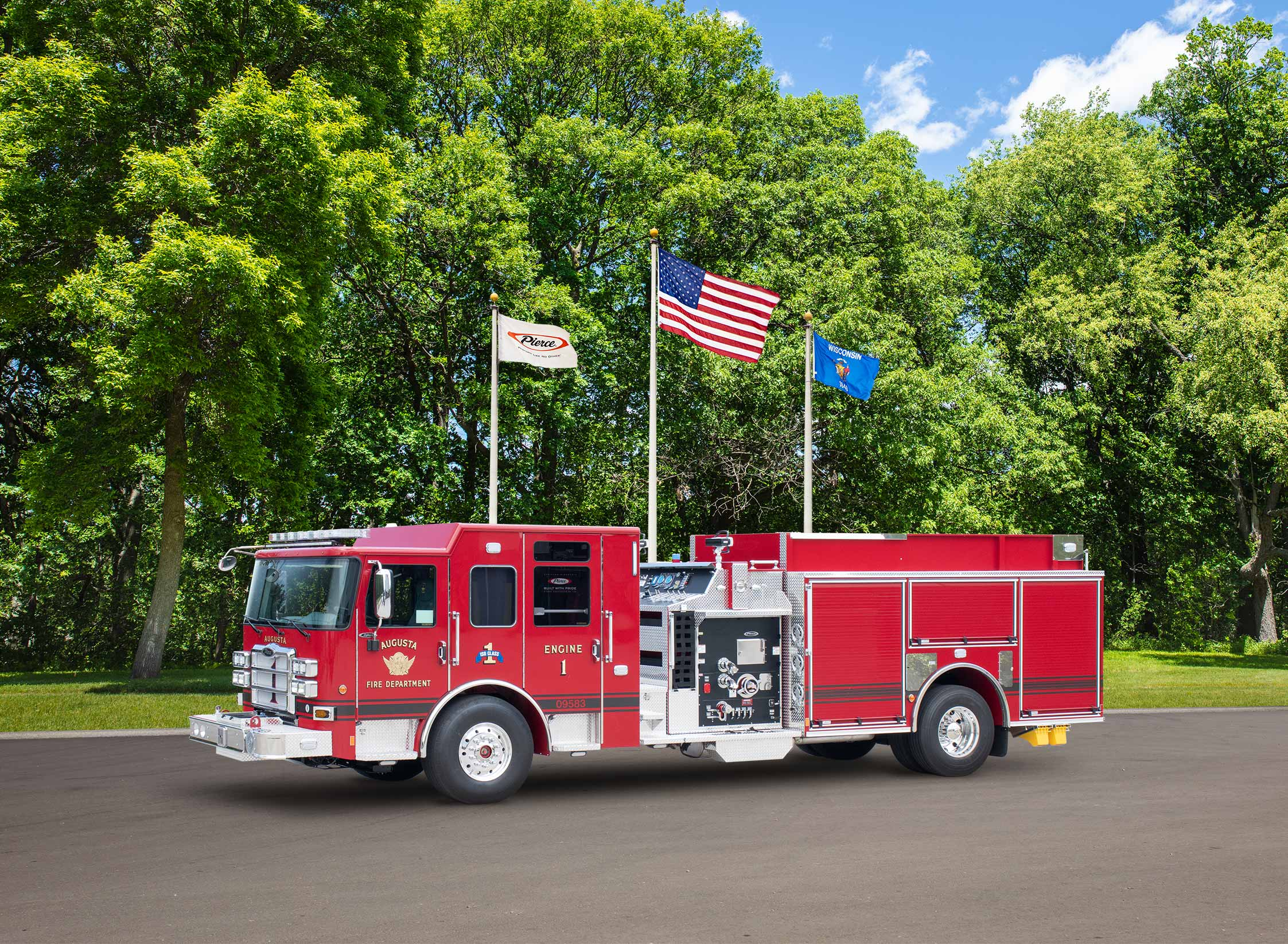 Augusta Fire Department - Pumper
