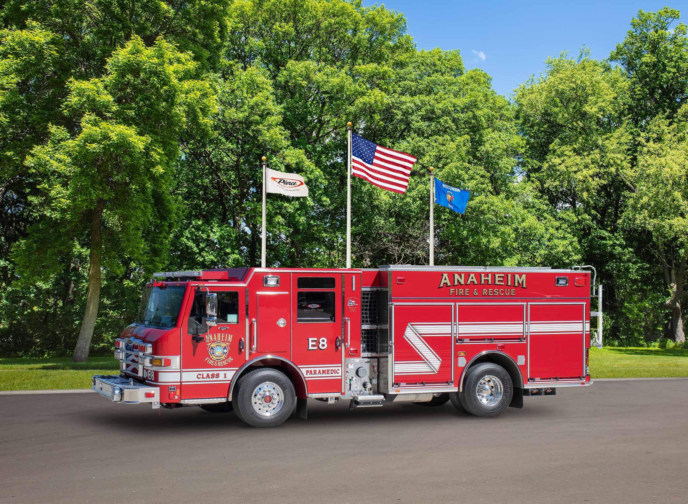 Anaheim Fire Department - Pumper