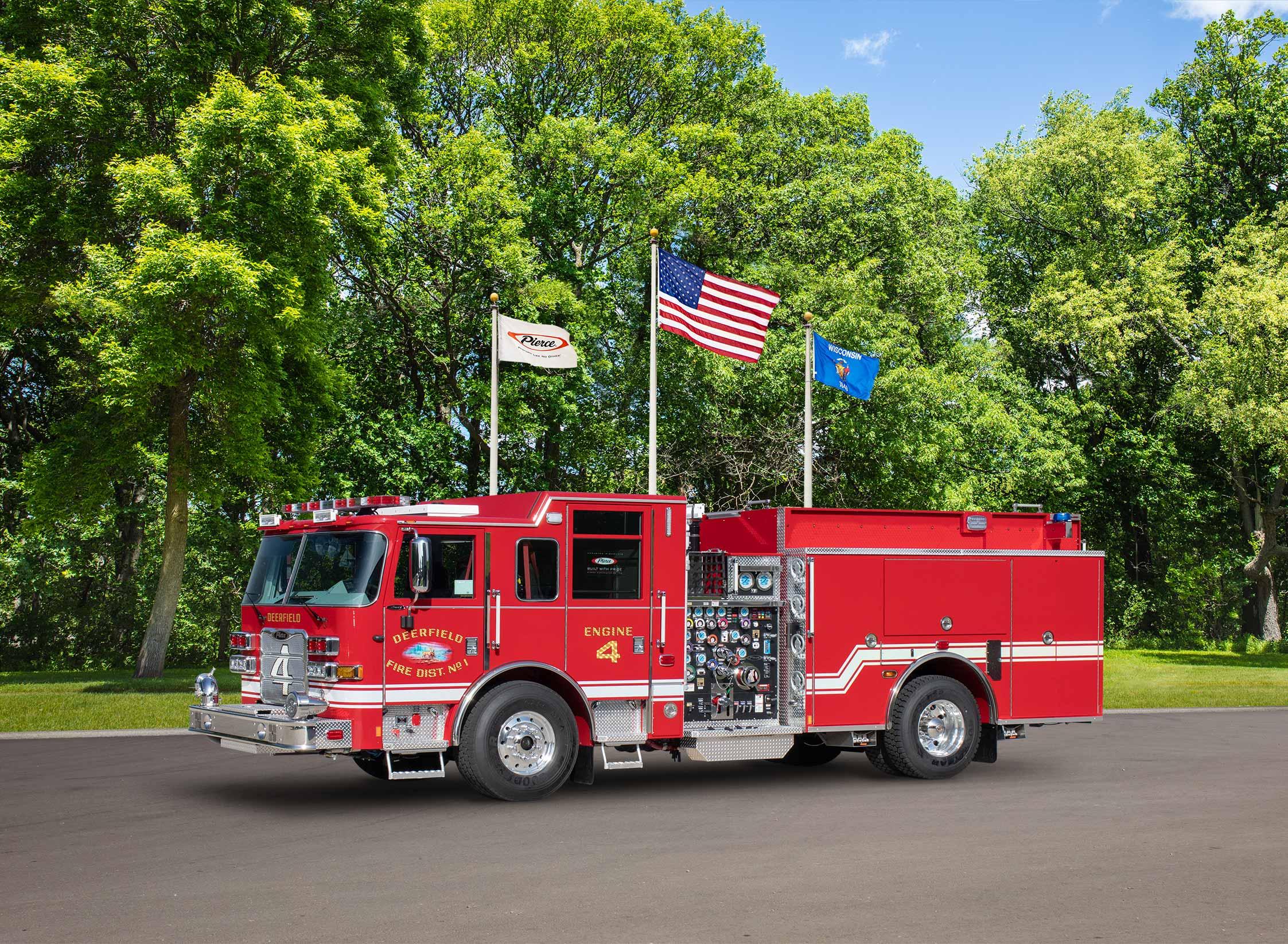 Deerfield Fire District No.1 - Pumper