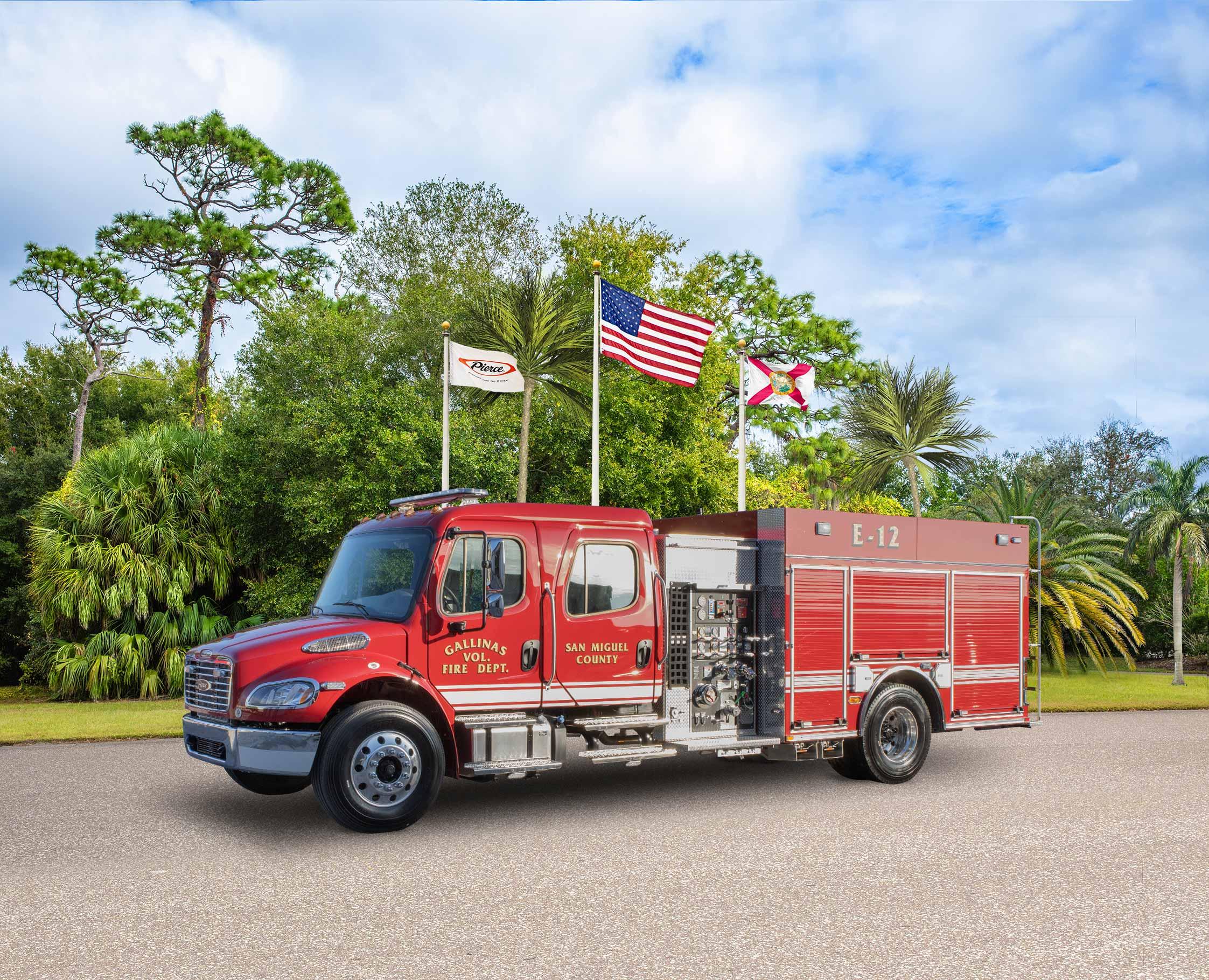 Gallinas Volunteer Fire Department - Pumper