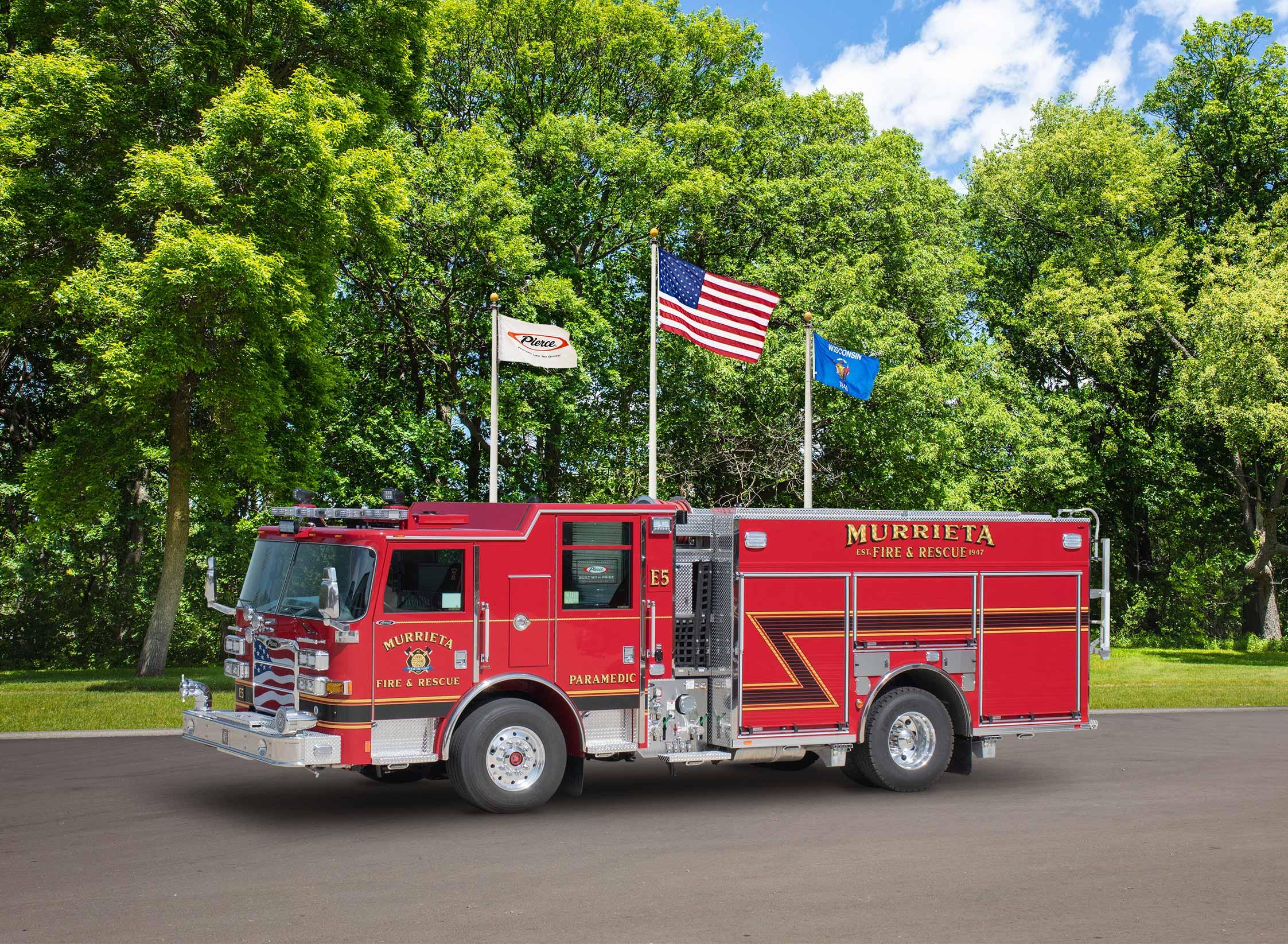 Murrieta Fire Department - Pumper
