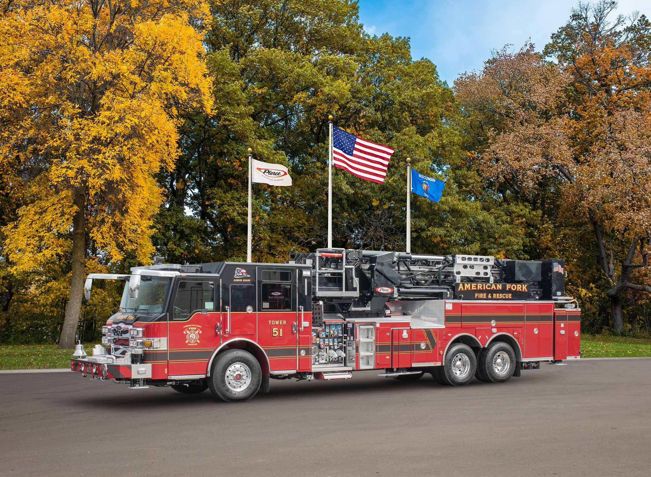 American Fork Fire & Rescue - Aerial