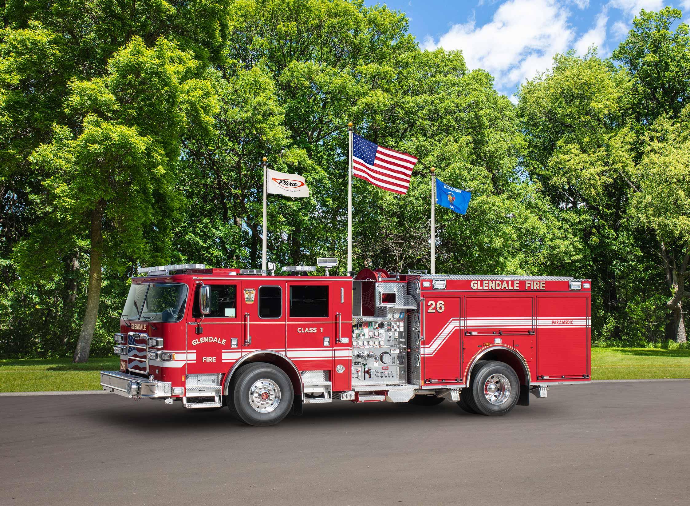 Glendale Fire Department - Pumper