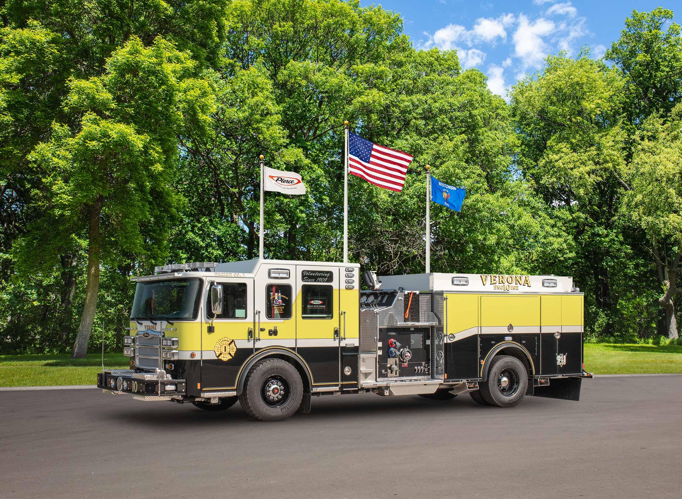 Township of Verona Fire Department - Pumper