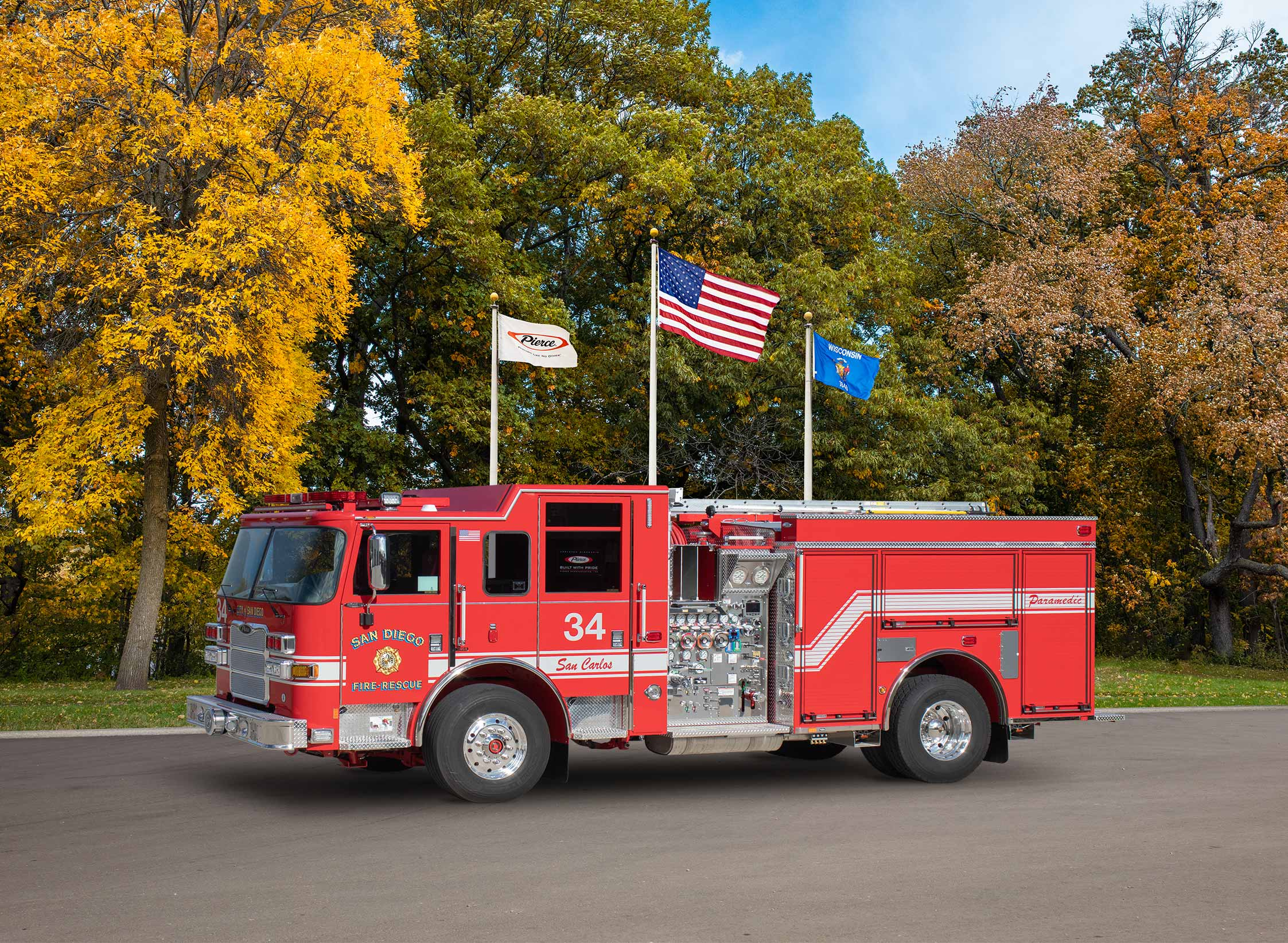 San Diego Fire Department - Pumper