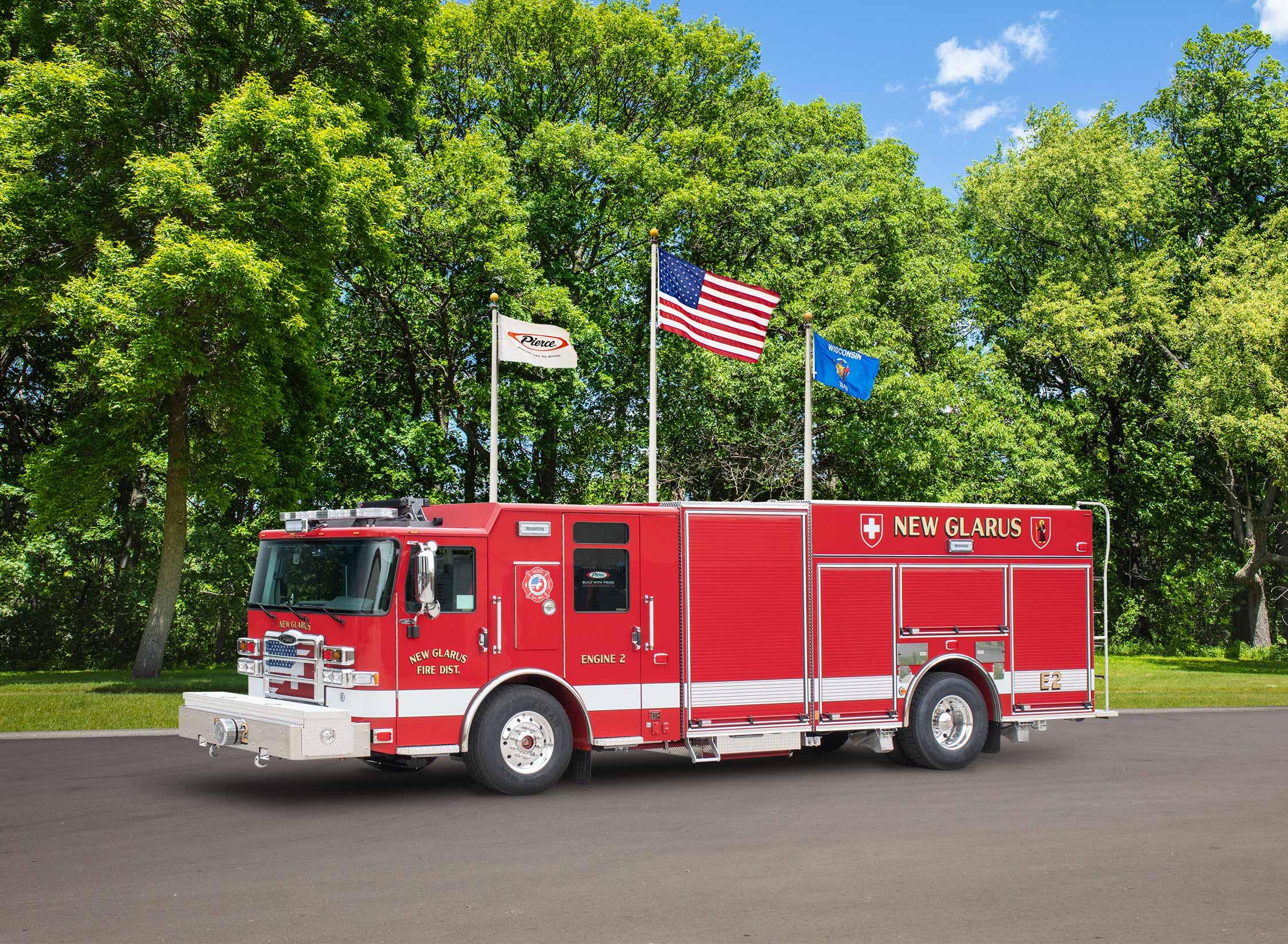 New Glarus Fire Department - Pumper