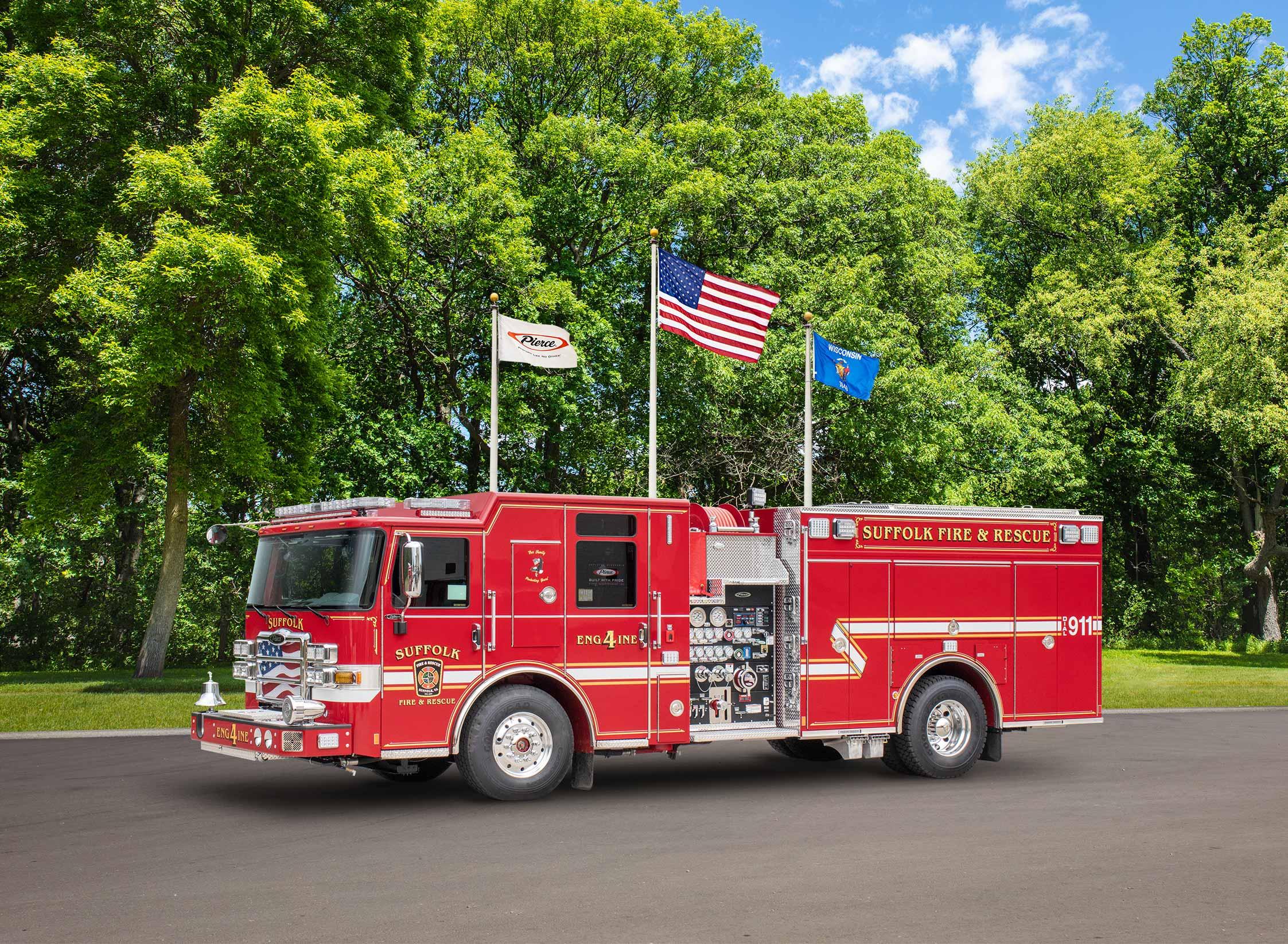 Suffolk Fire & Rescue - Pumper