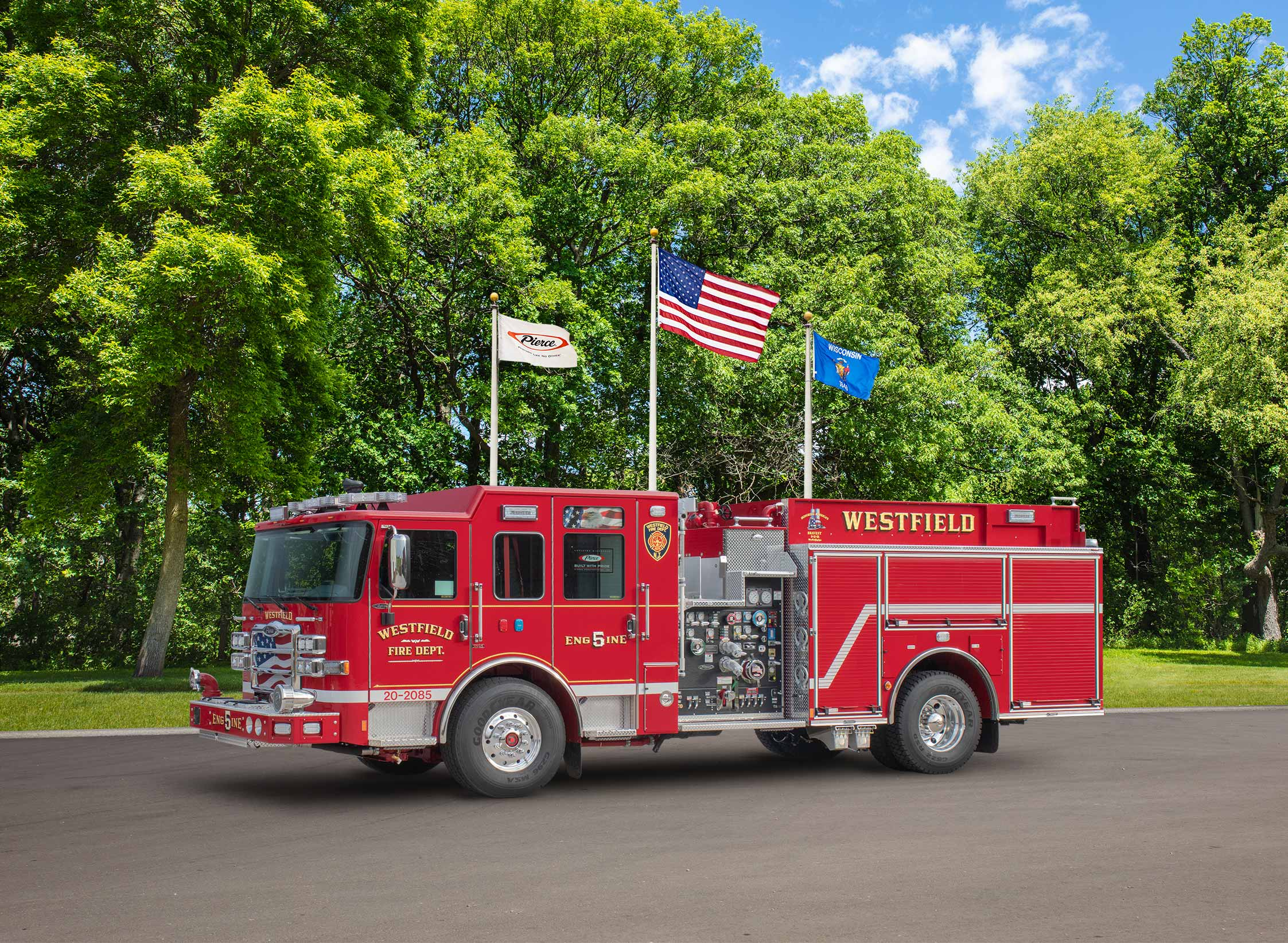 Westfield Fire Department - Pumper