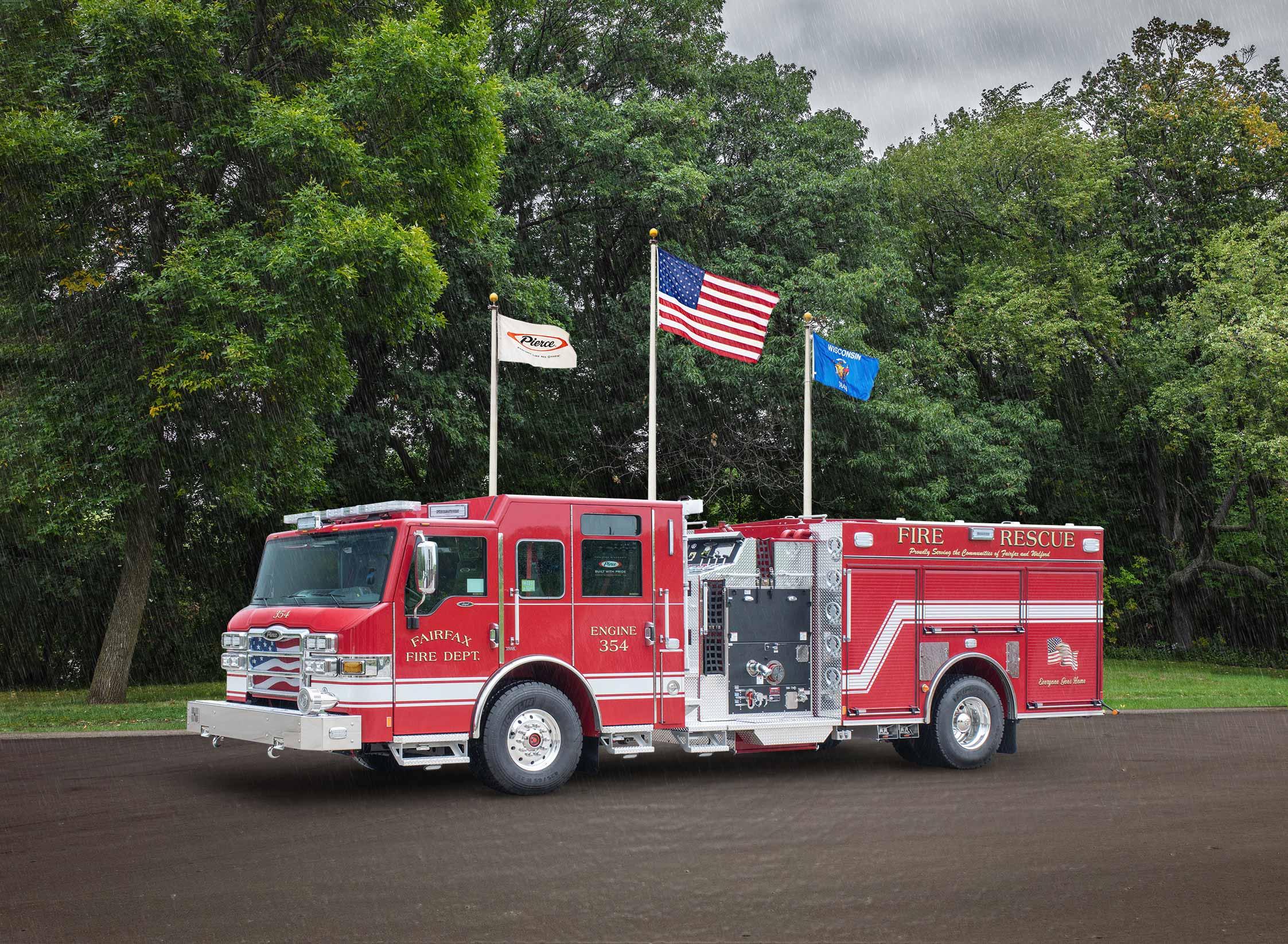 Fairfax Fire Department - Pumper