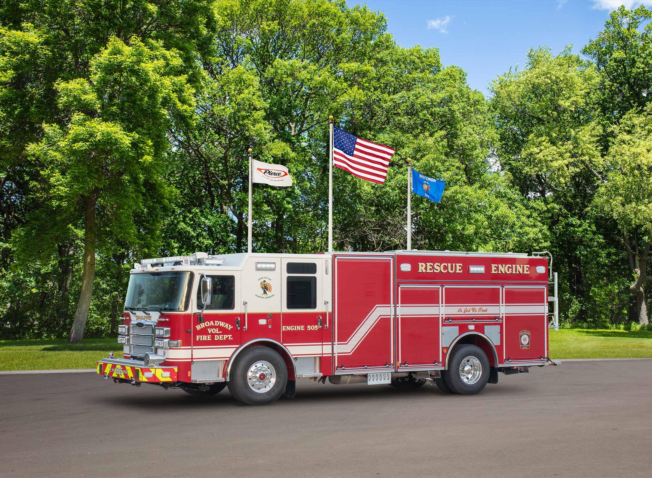 Broadway Volunteer Fire Department - Pumper