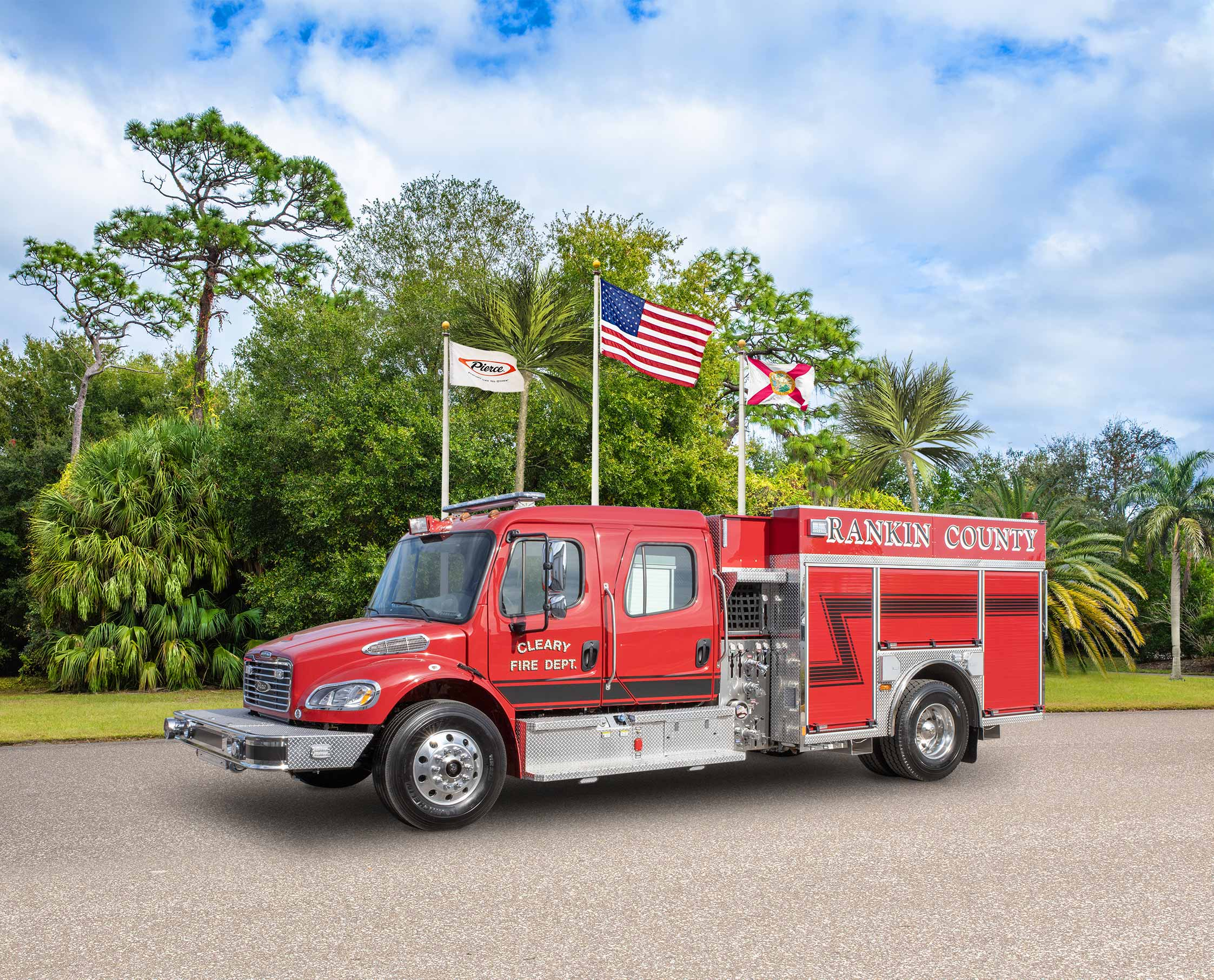 Cleary Fire Department - Pumper