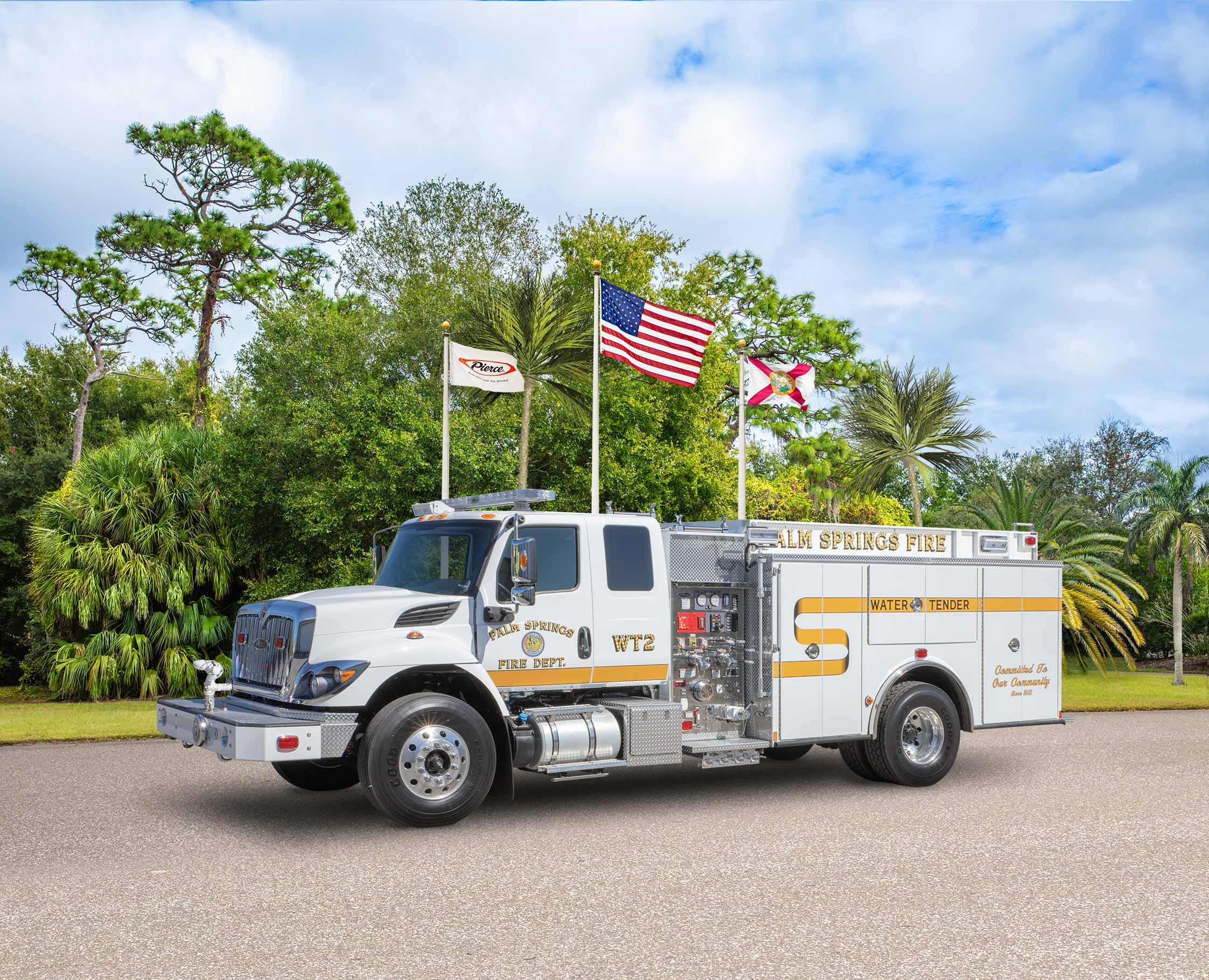 Palm Springs Fire Department - Pumper