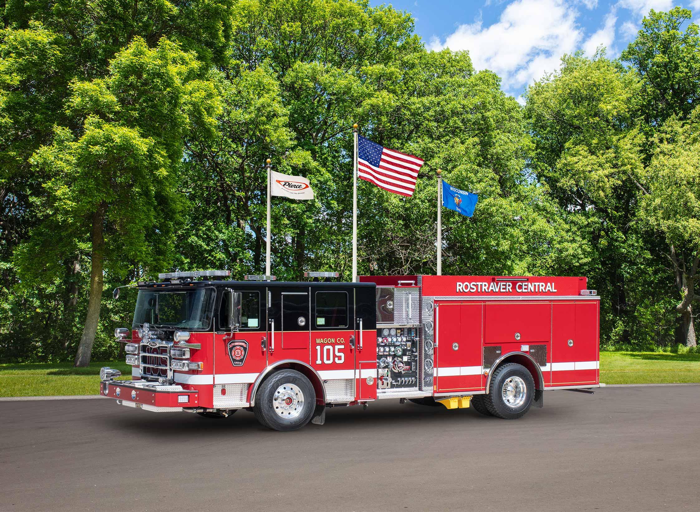 Rostraver Central Volunteer Fire Department - Pumper