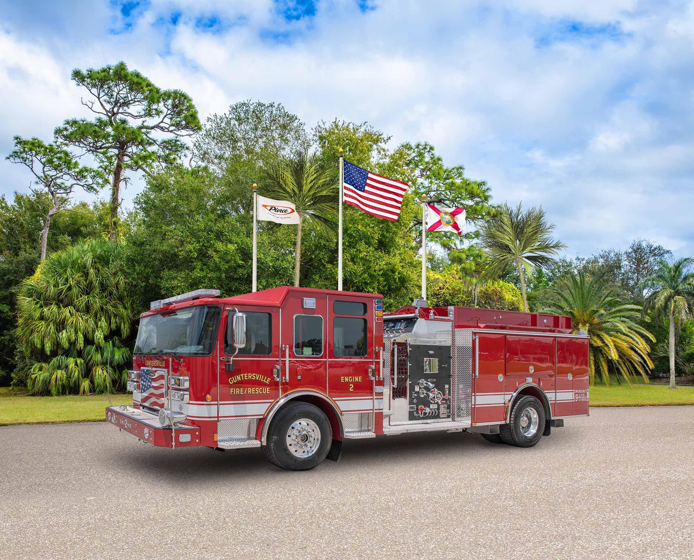 Guntersville Fire Department - Pumper