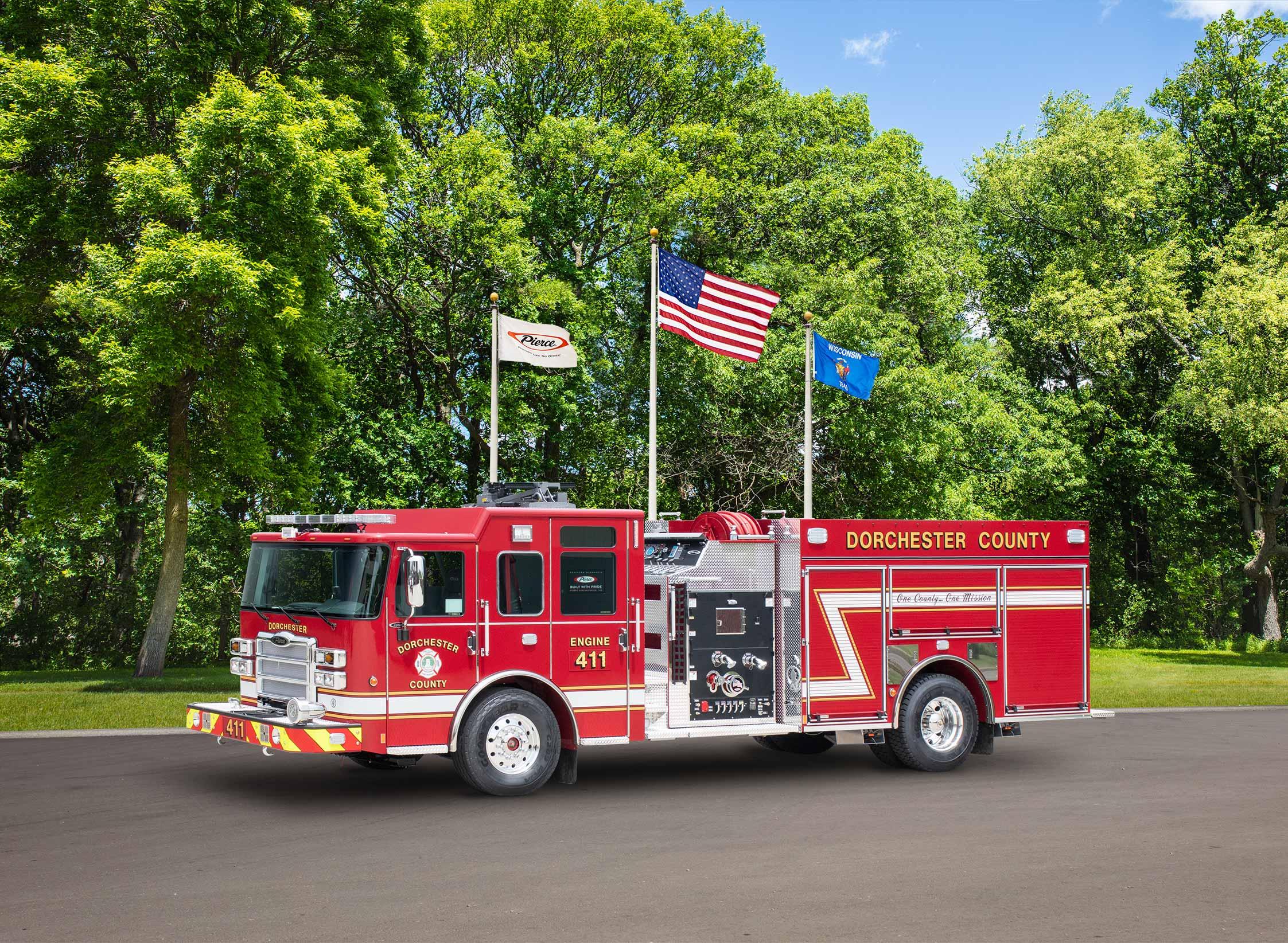 Dorchester County Fire Service - Pumper