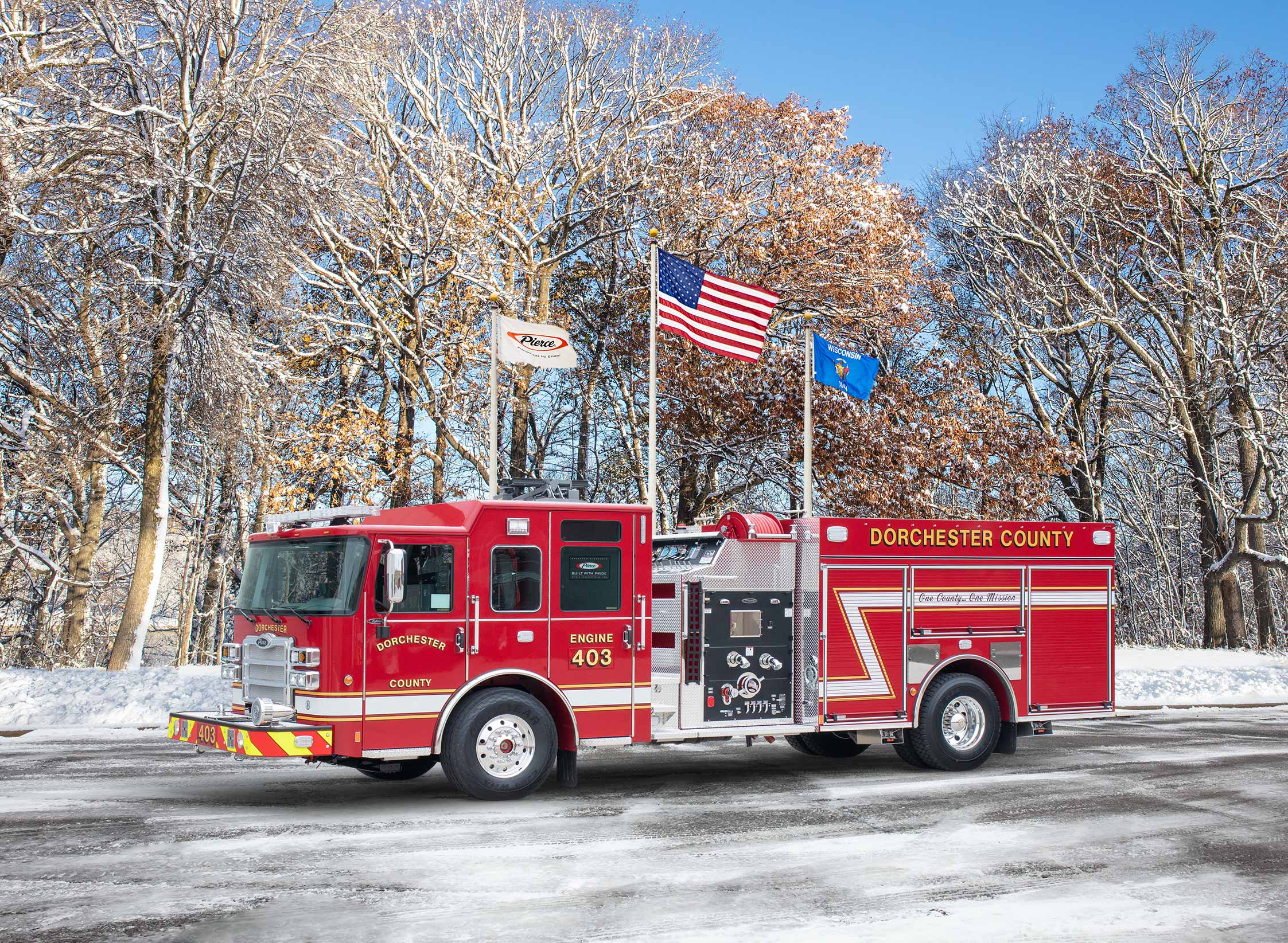 Dorchester County Fire Service - Pumper