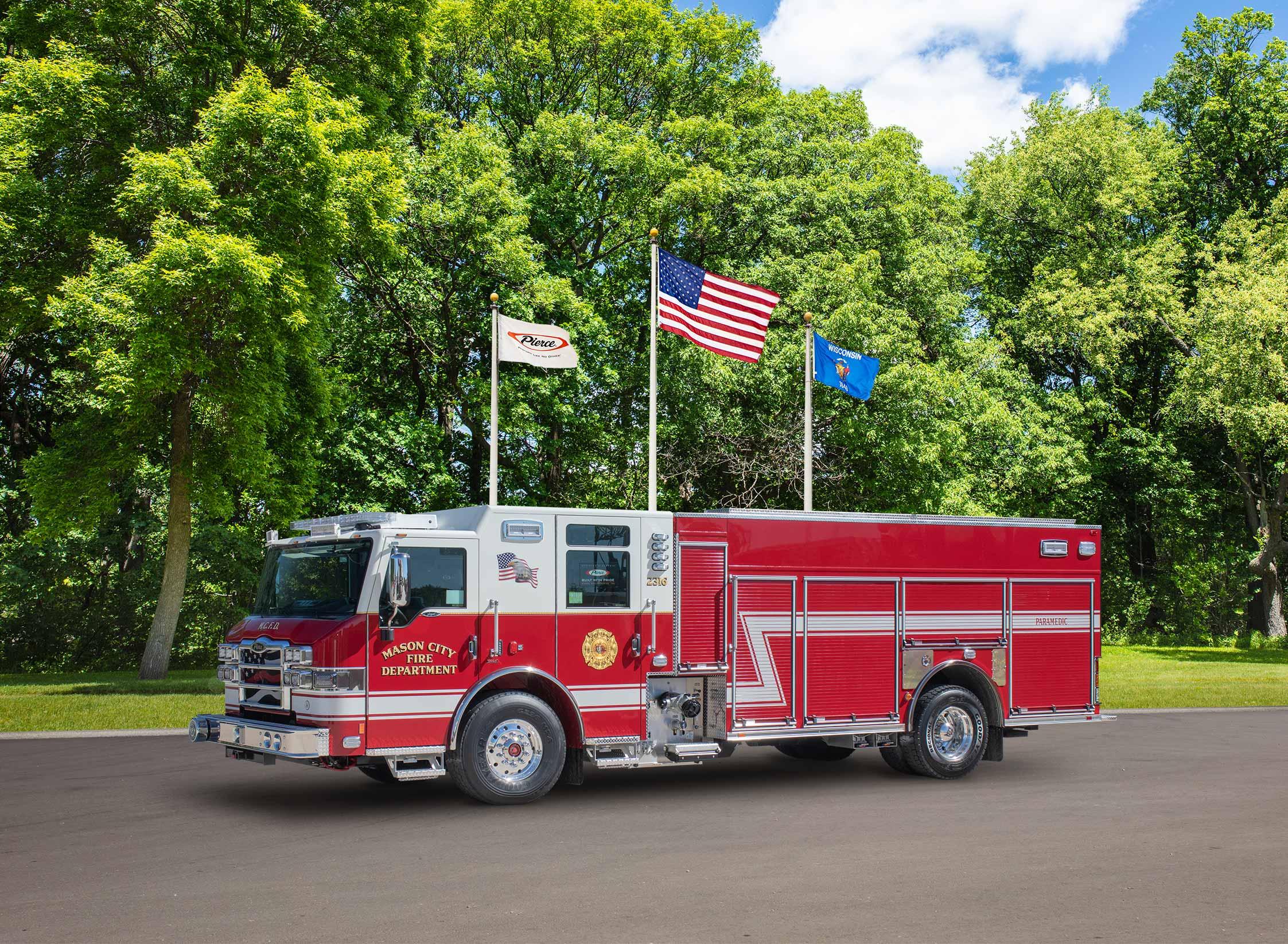 Mason City Iowa Fire Department - Pumper
