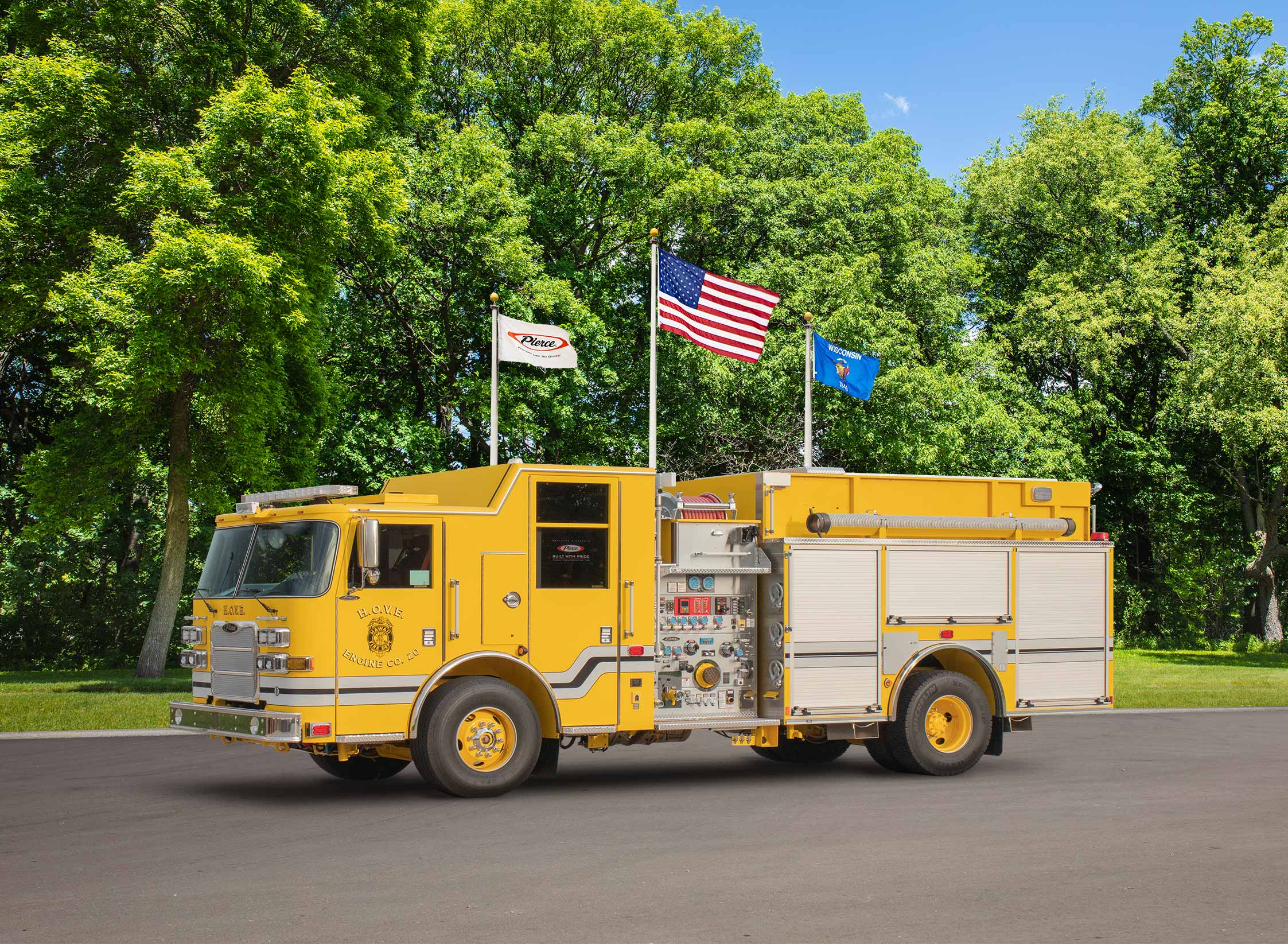 Hawaii County Fire Department - Pumper