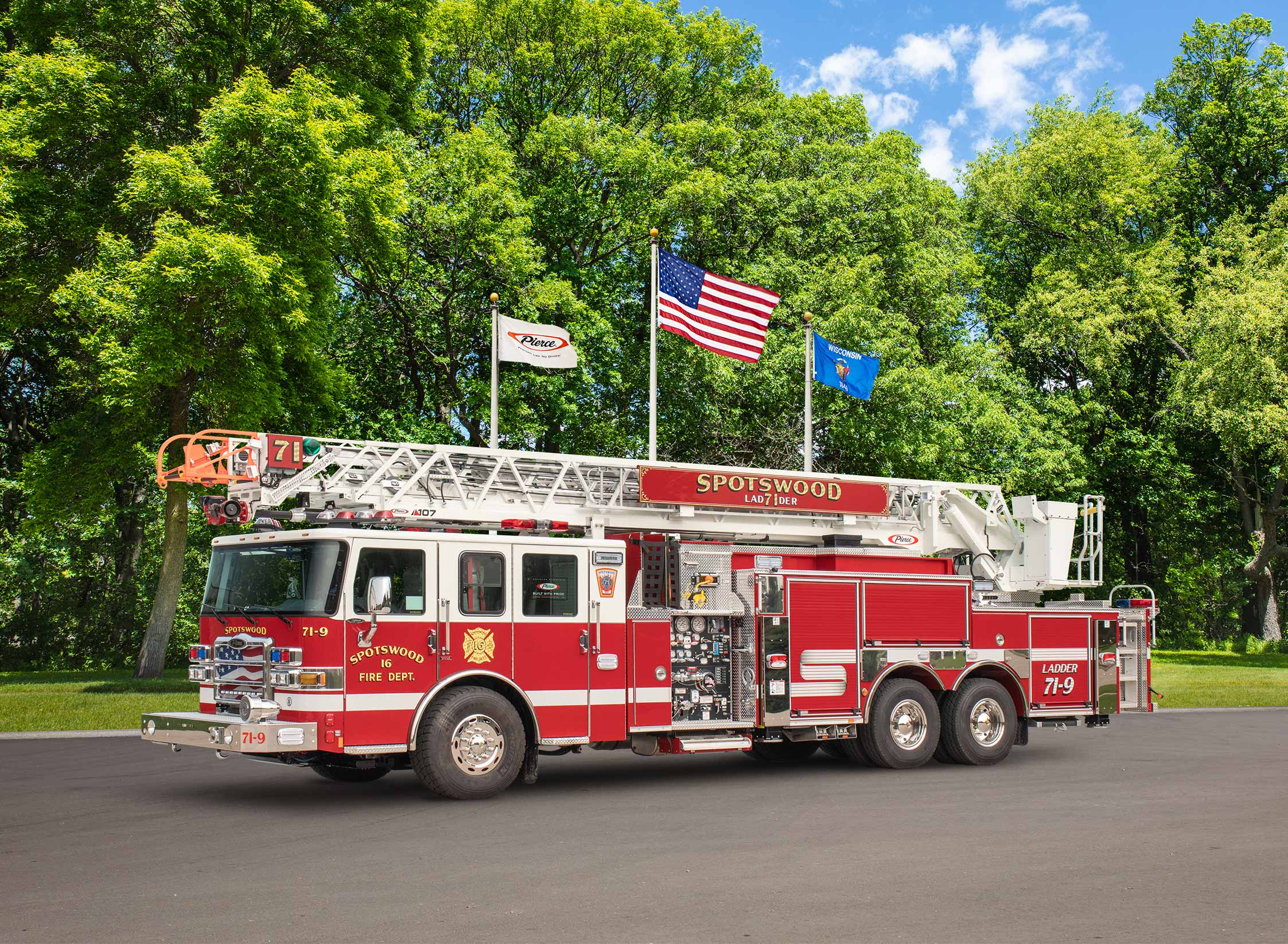 Spotswood Fire Department - Aerial