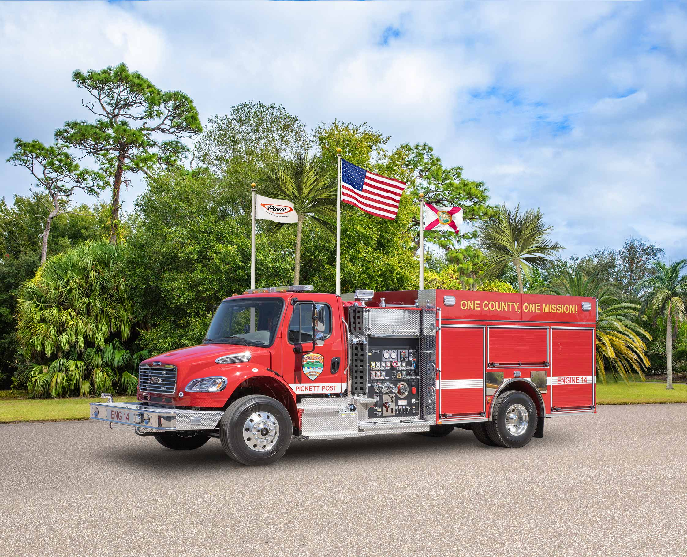 Oconee County Emergency Services - Pumper