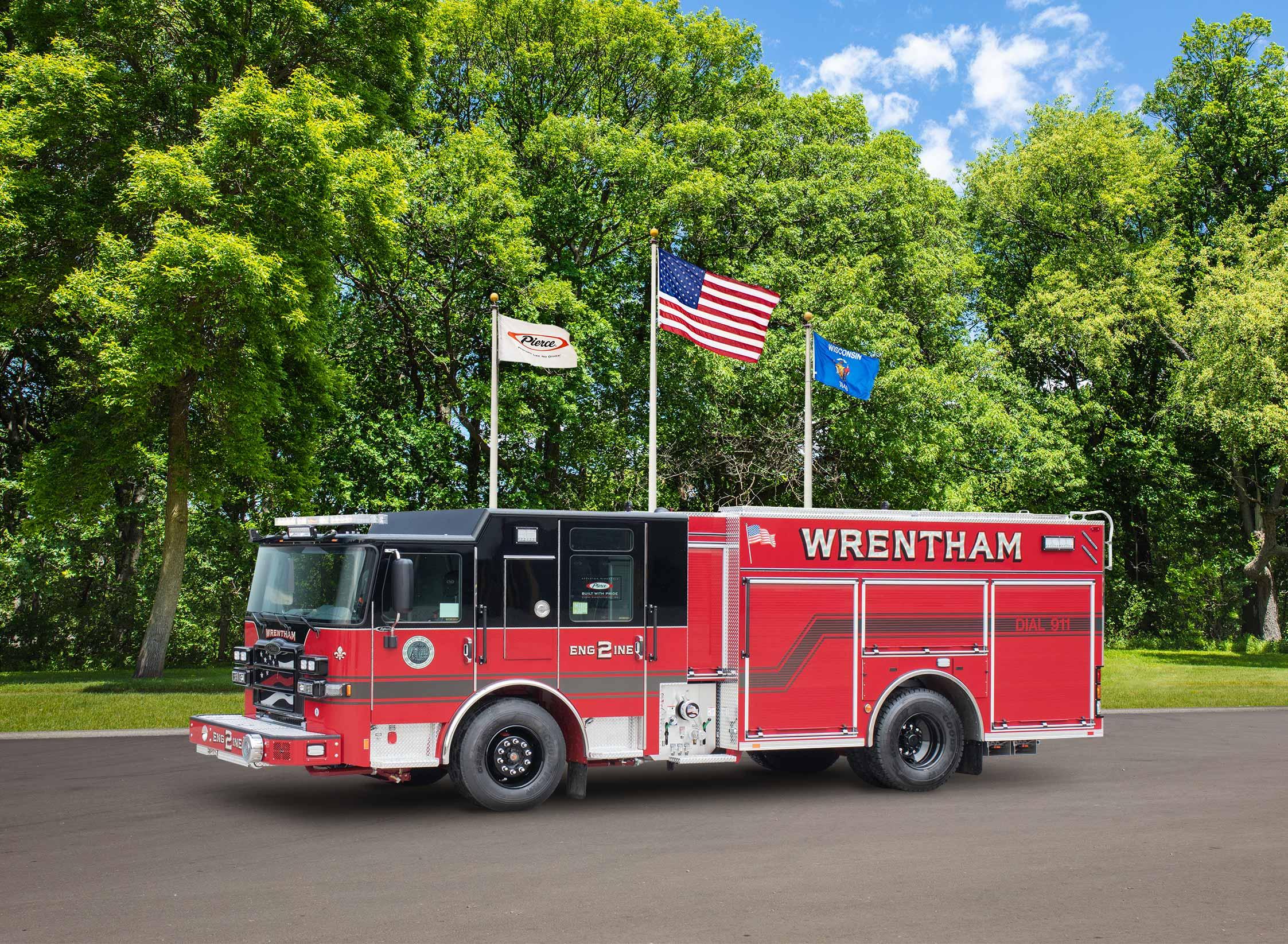 Wrentham Fire Department - Pumper