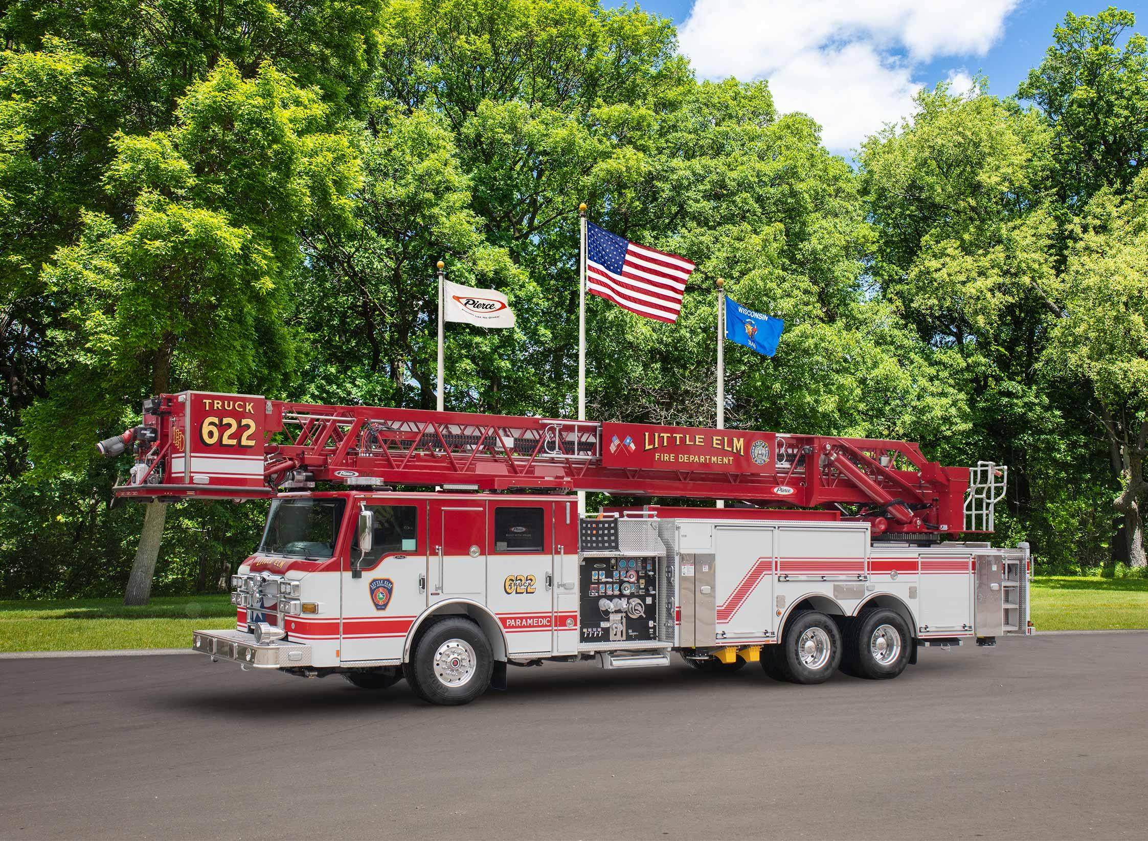 Little Elm Fire Department - Aerial