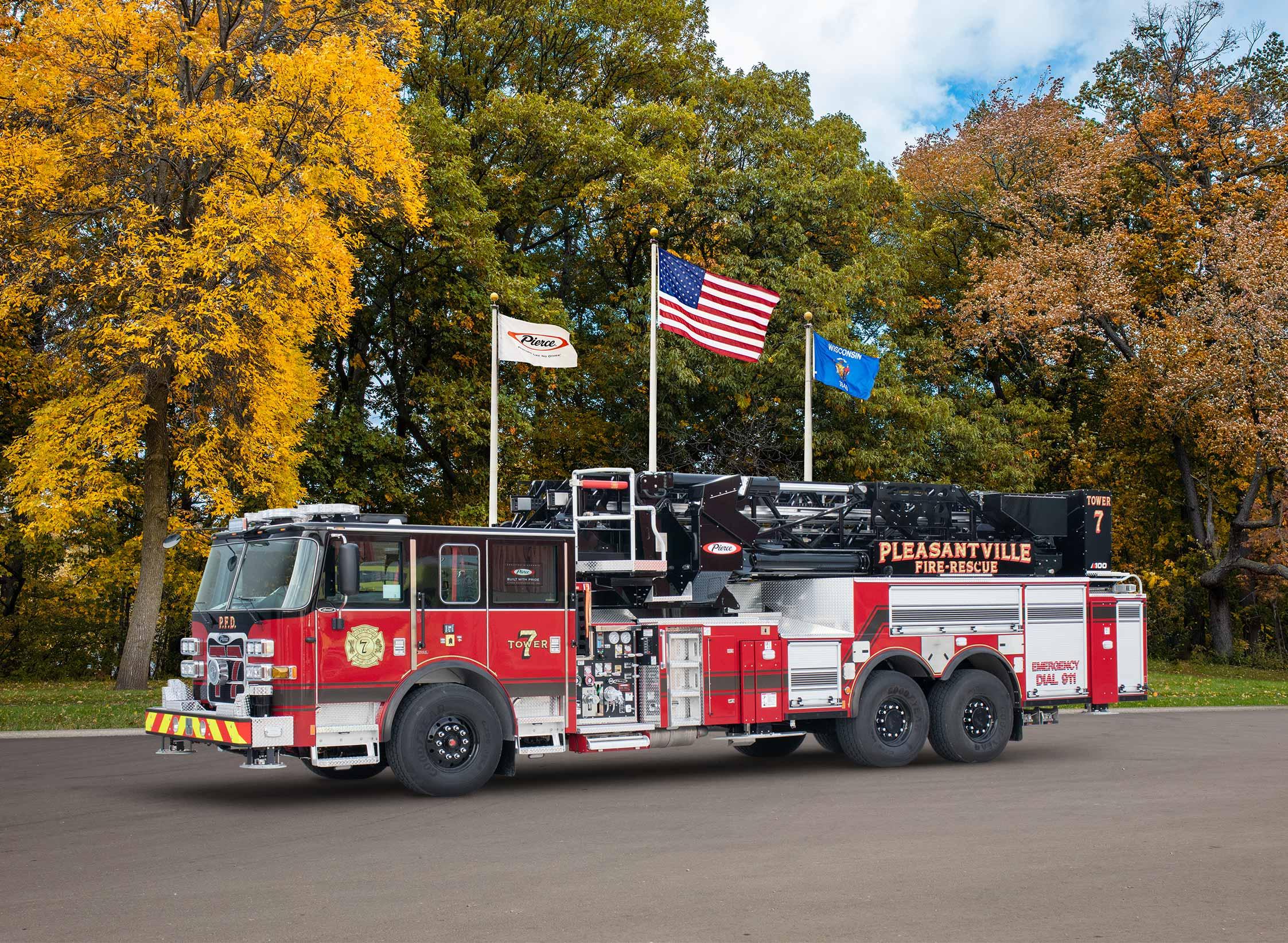 Pleasantville Fire Department - Aerial