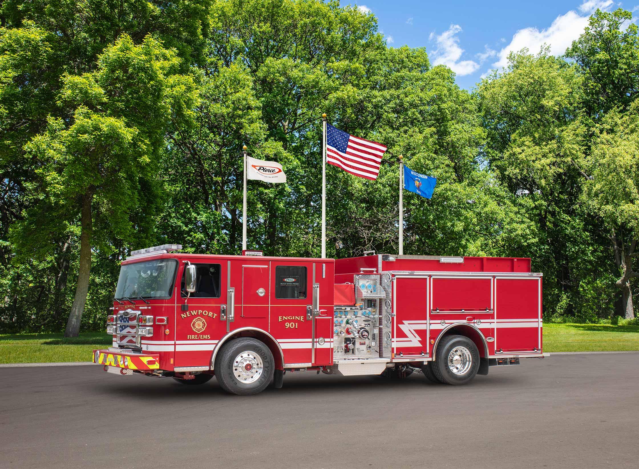 Newport Fire Department - Pumper
