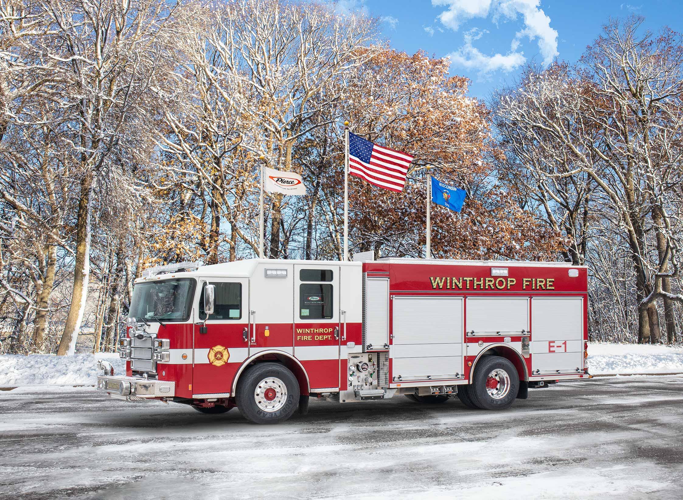 Winthrop Fire Department - Pumper