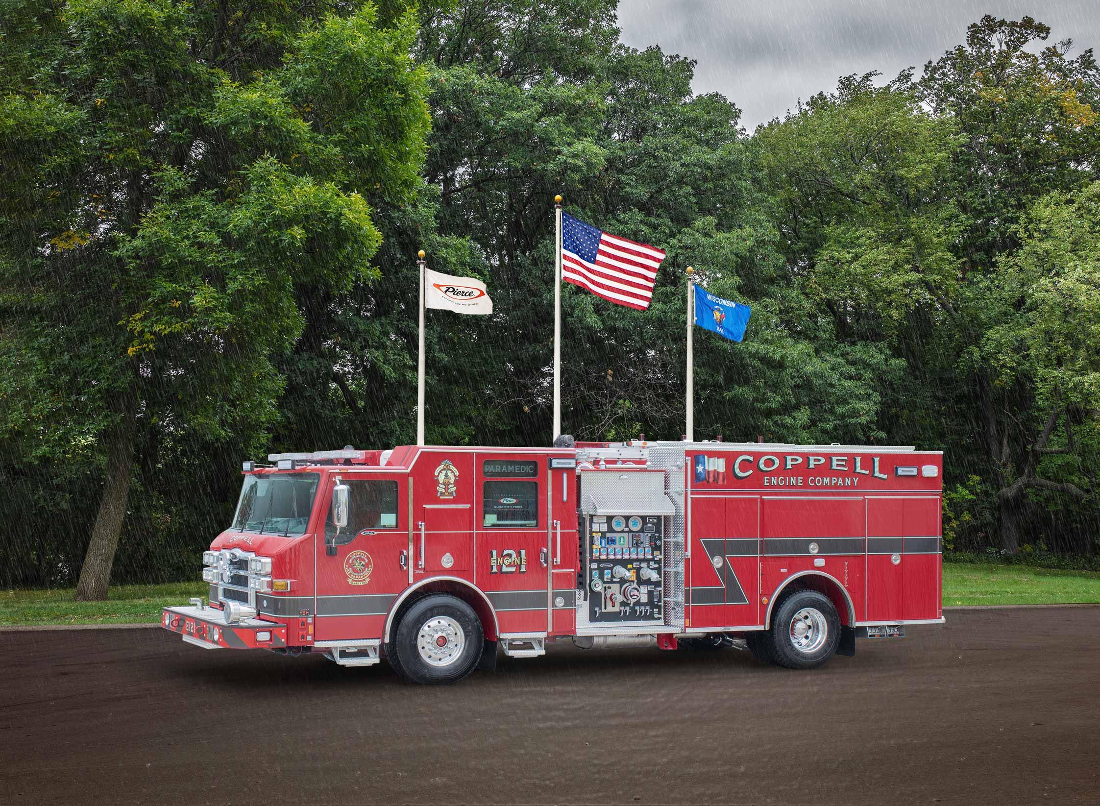 Coppell Fire Department - Pumper