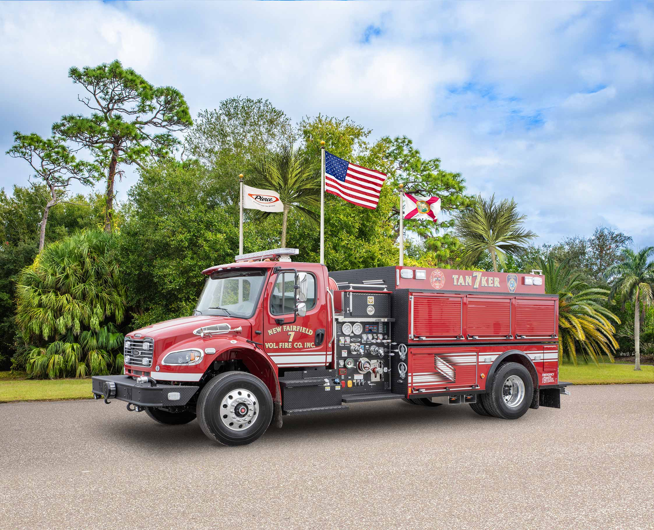 New Fairfield Fire Department Company - Tanker