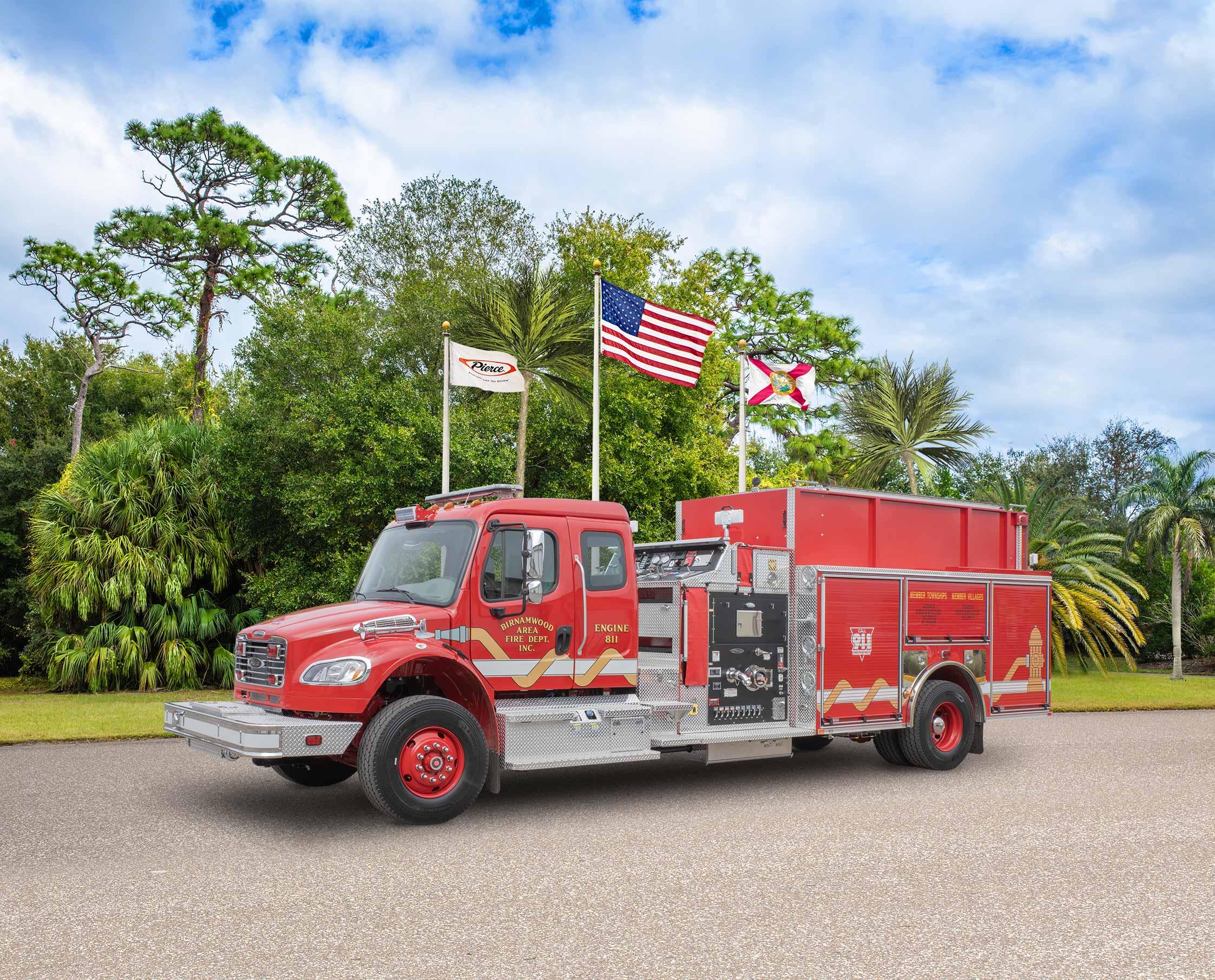 Birnamwood Fire Department - Pumper