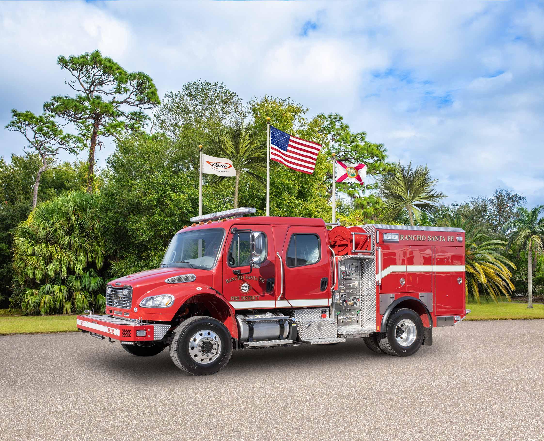 Rancho Santa Fe Fire Department - Pumper