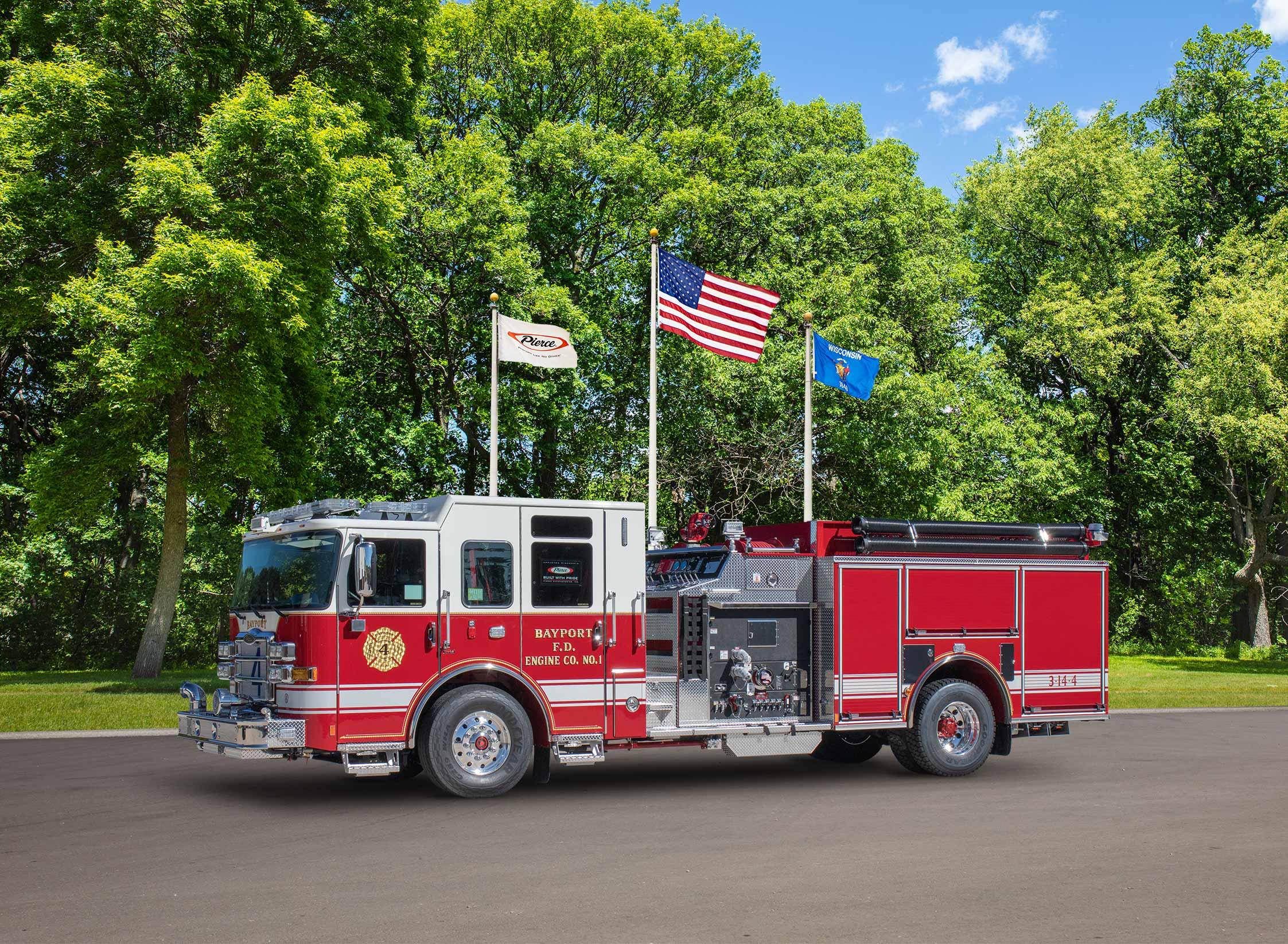 Bayport Fire Department - Pumper