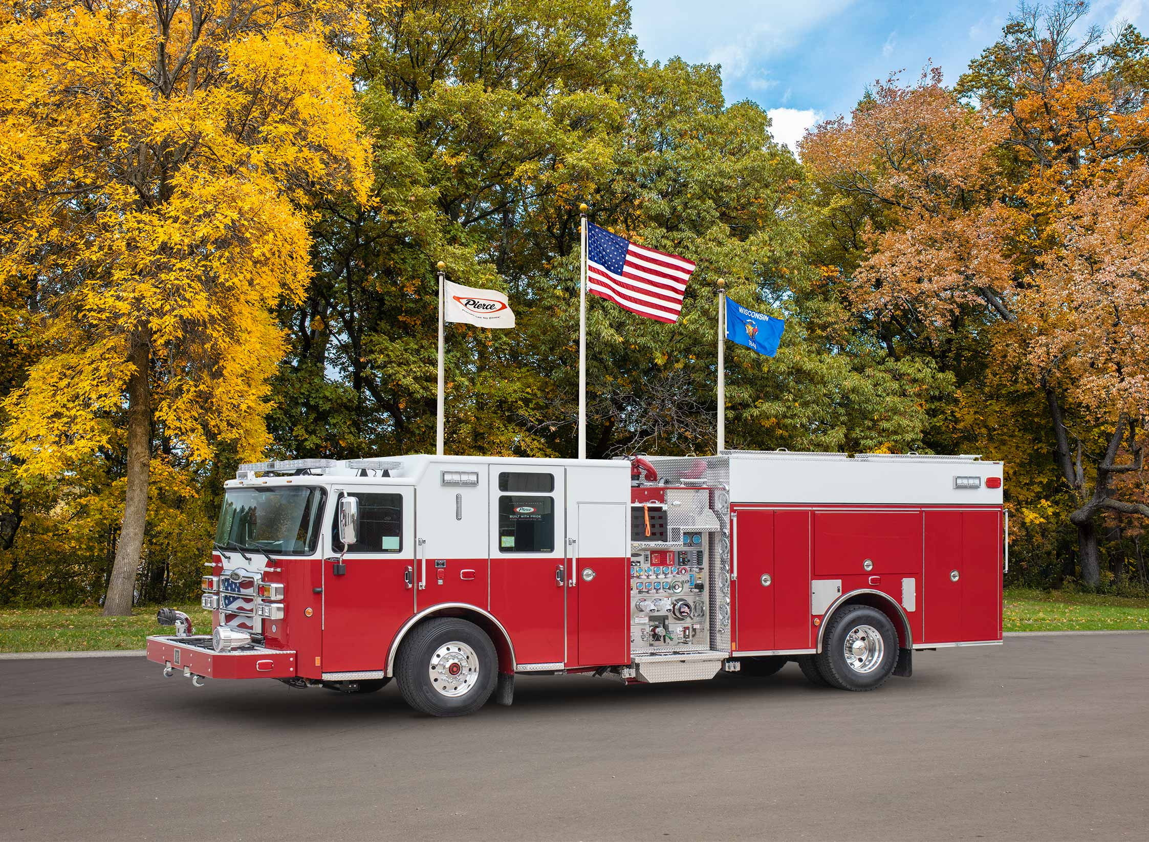 Homer Township Fire Protection District - Pumper