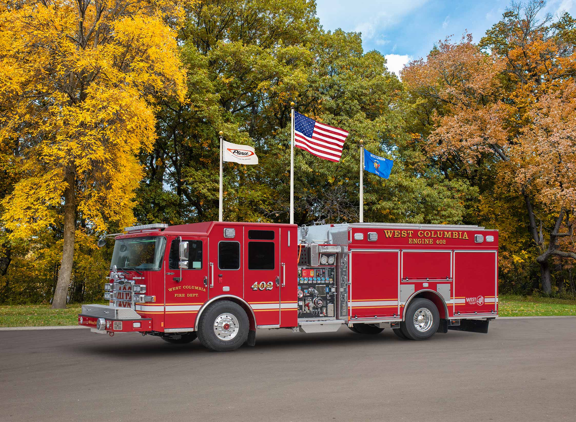 West Columbia Fire Department - Pumper