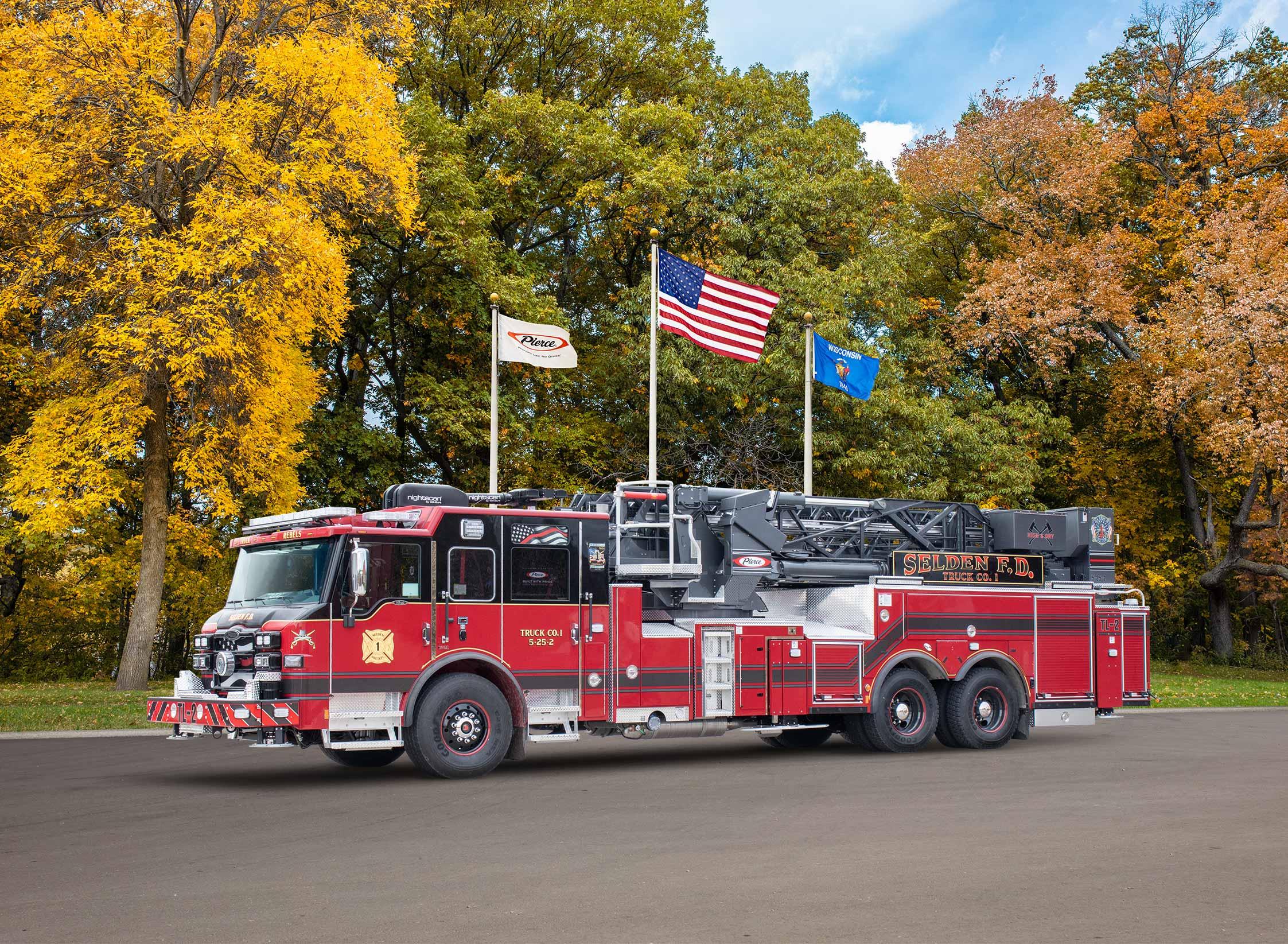 Selden Fire Department - Aerial