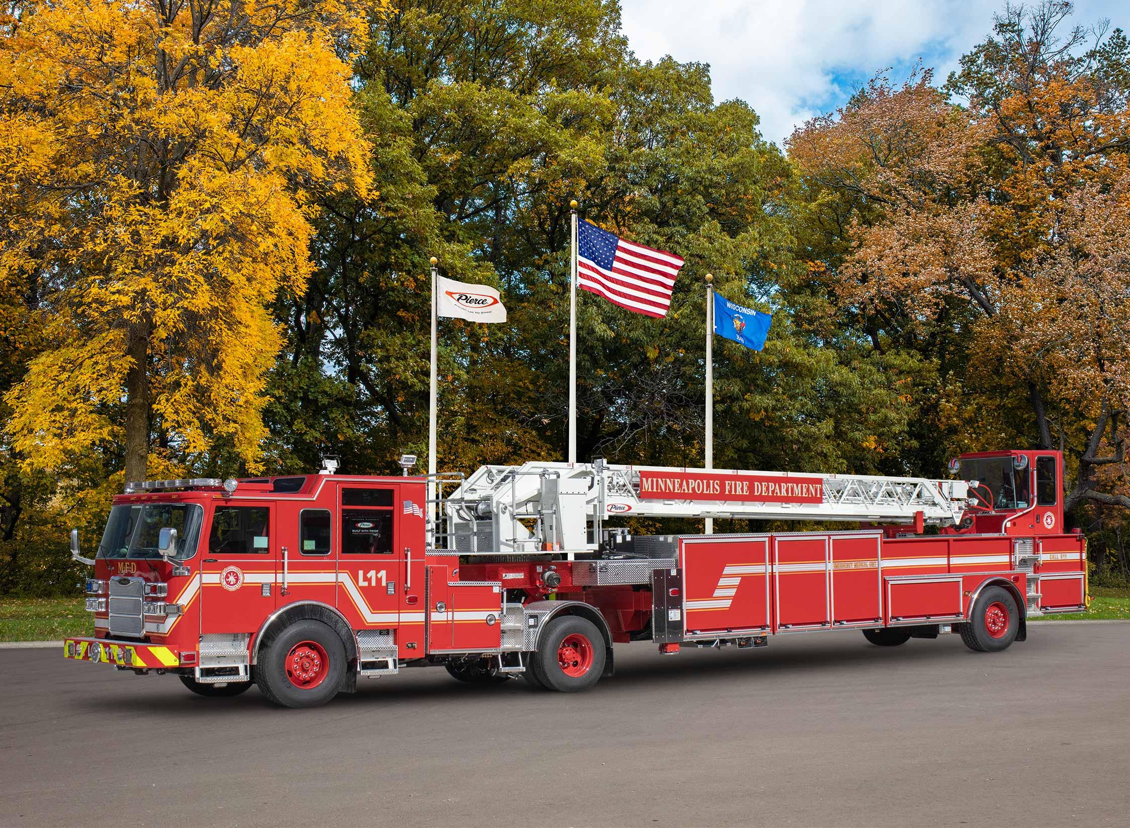 Minneapolis Fire Department - Aerial
