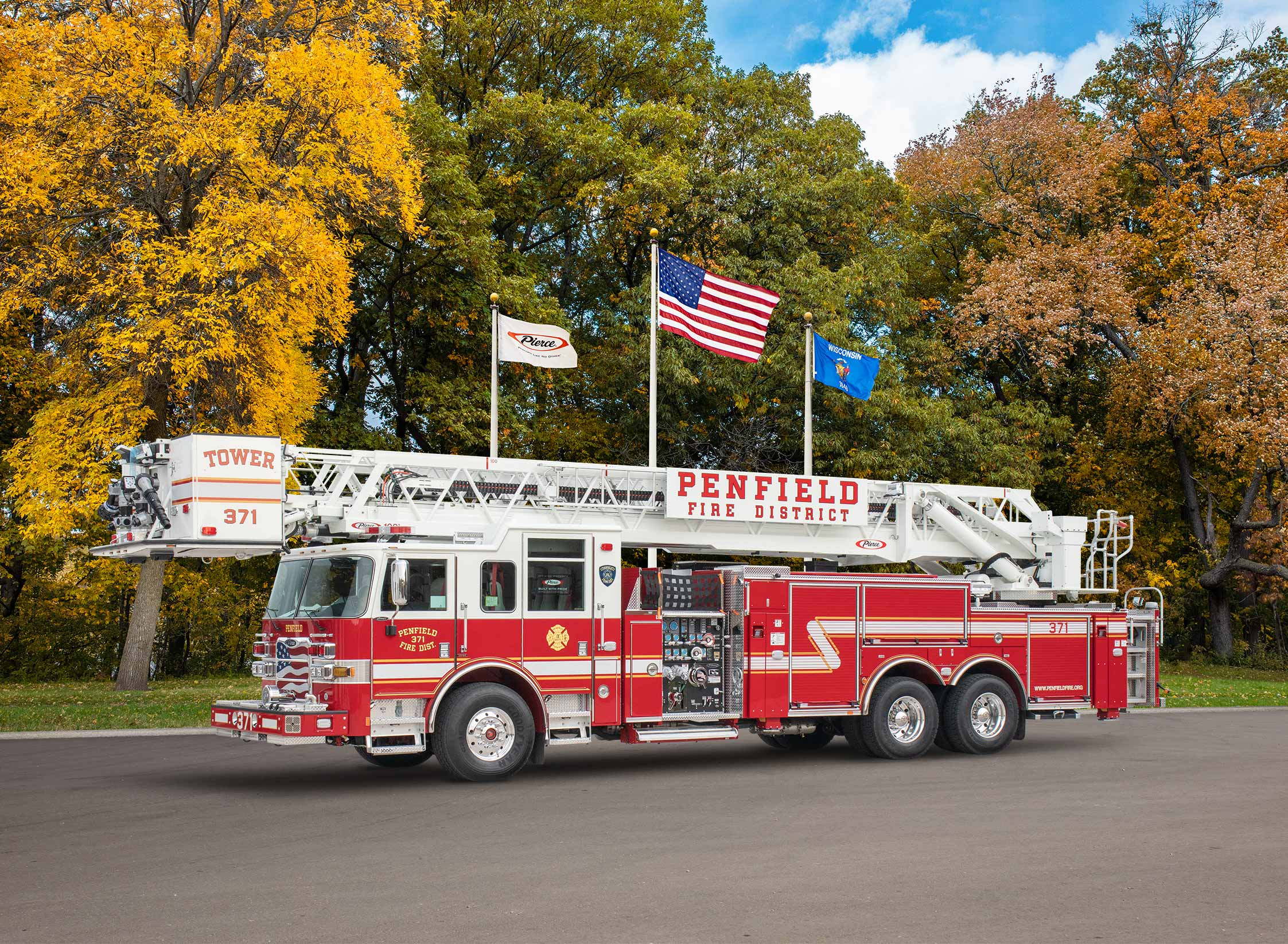 Penfield Fire District - Aerial